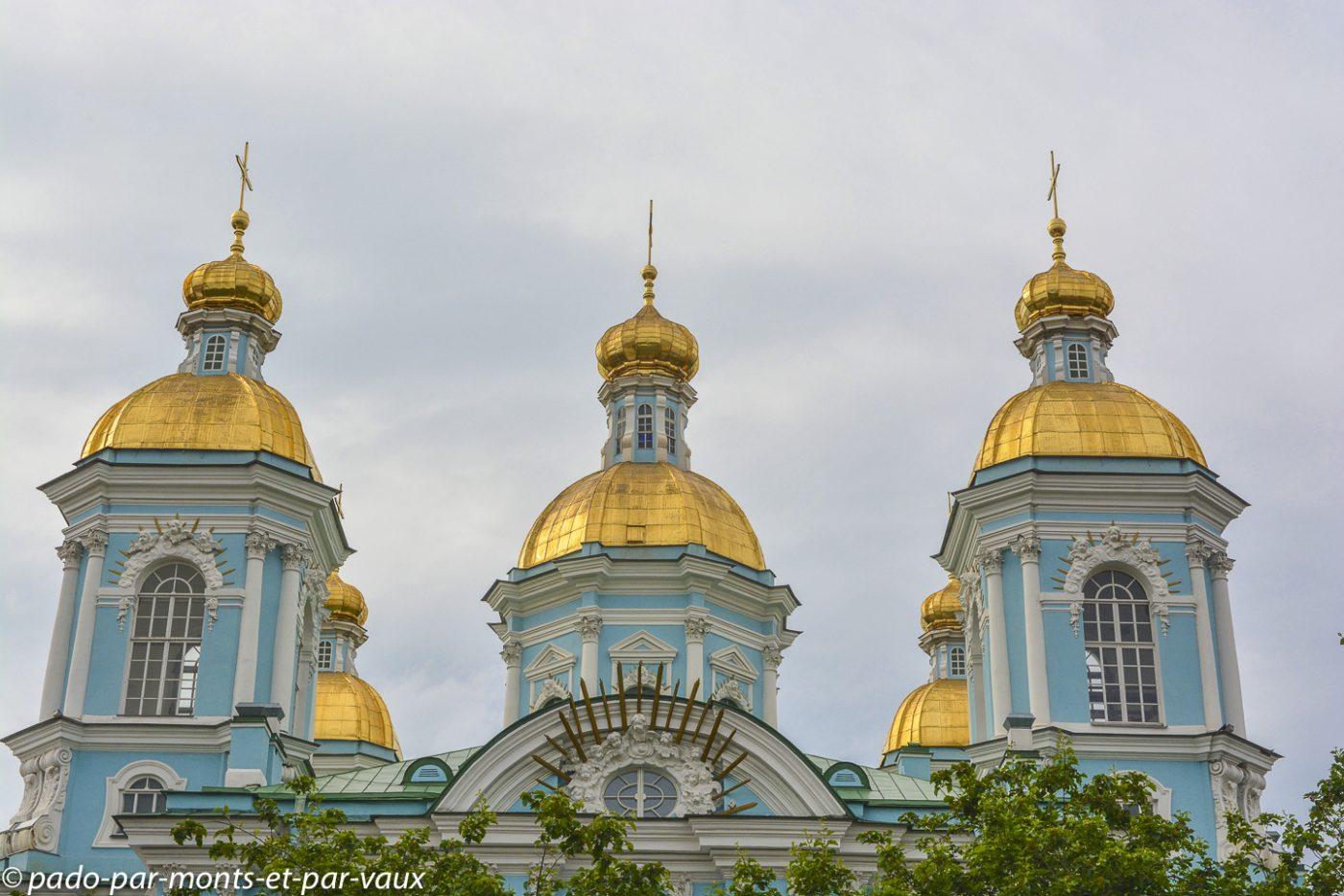 2015 - St Pétersbourg -  St Nicolas des Marins