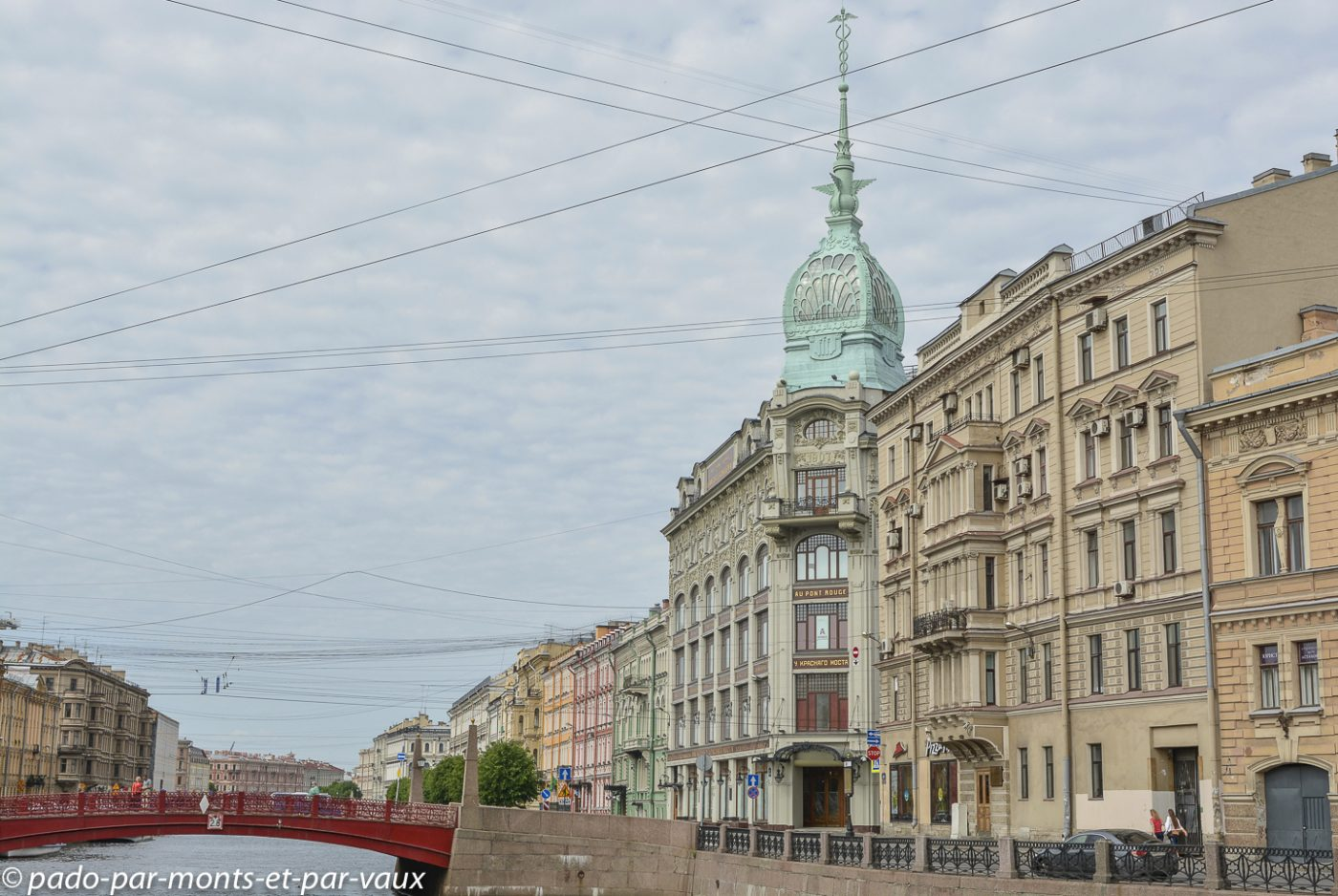 2015 - St Pétersbourg - canal de la Moika