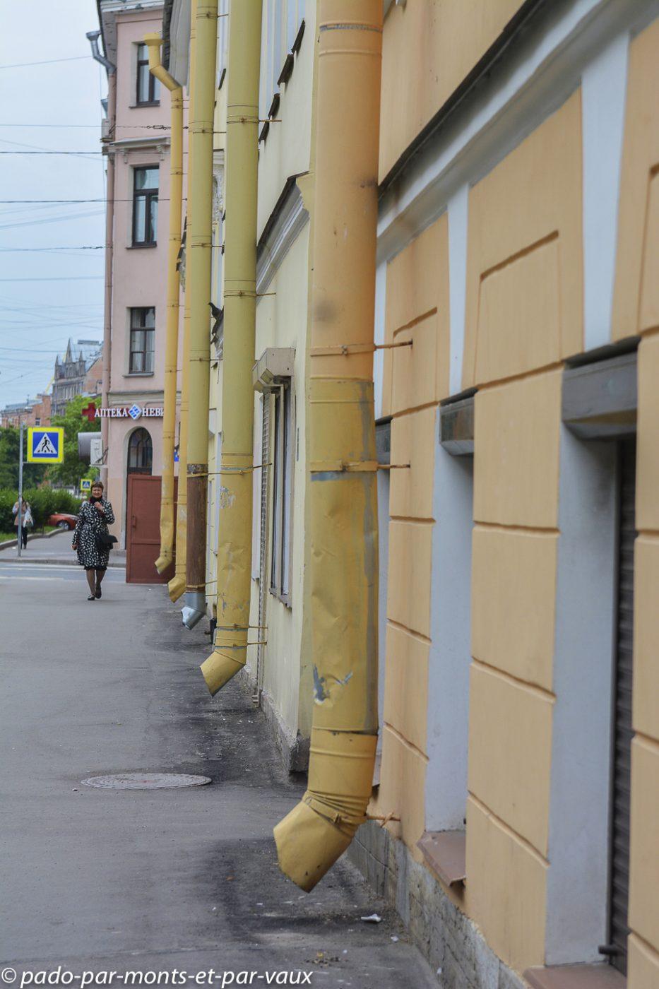 2015 - St Pétersbourg - gouttières