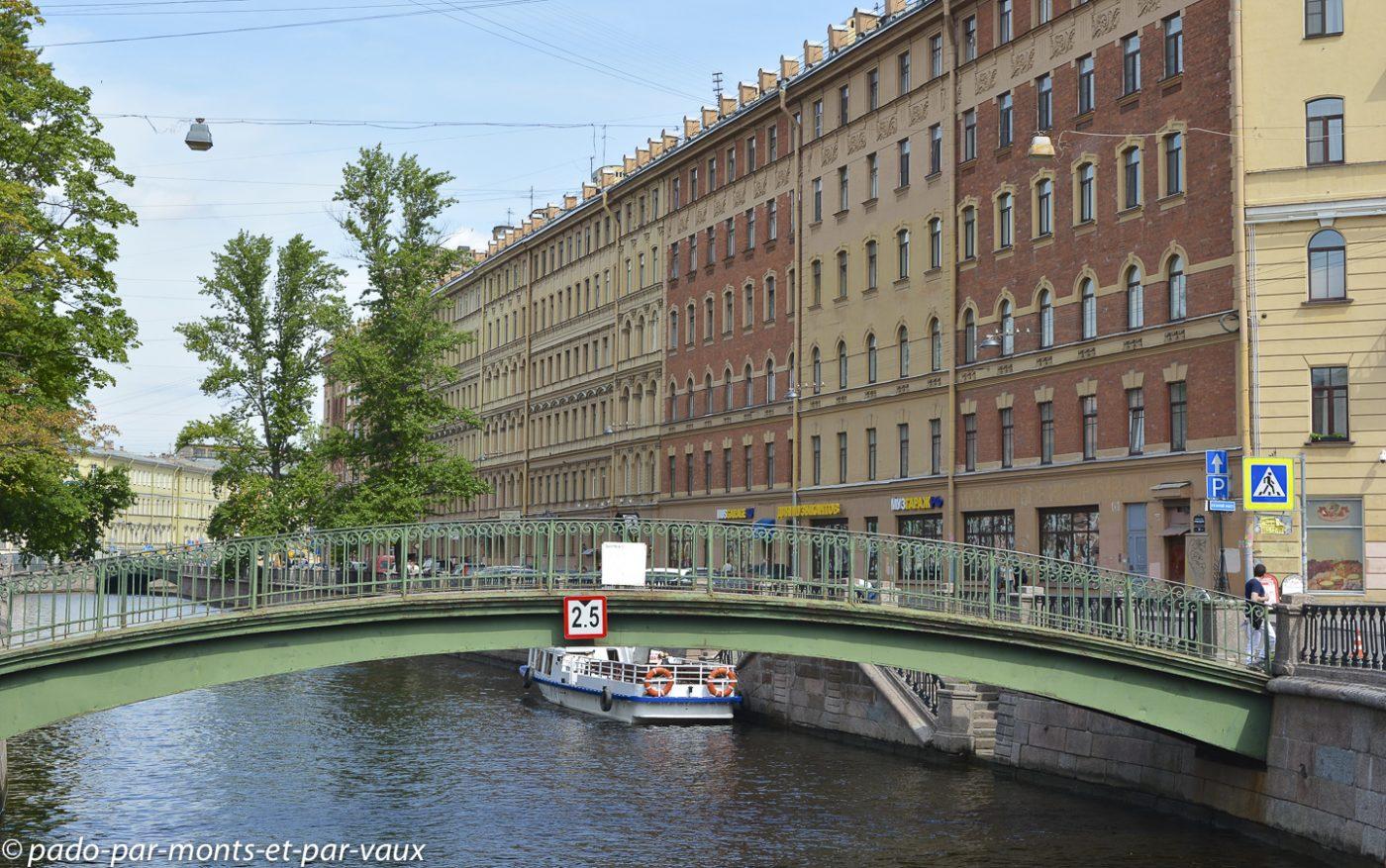 2015 - St Pétersbourg - canal Griboiedova