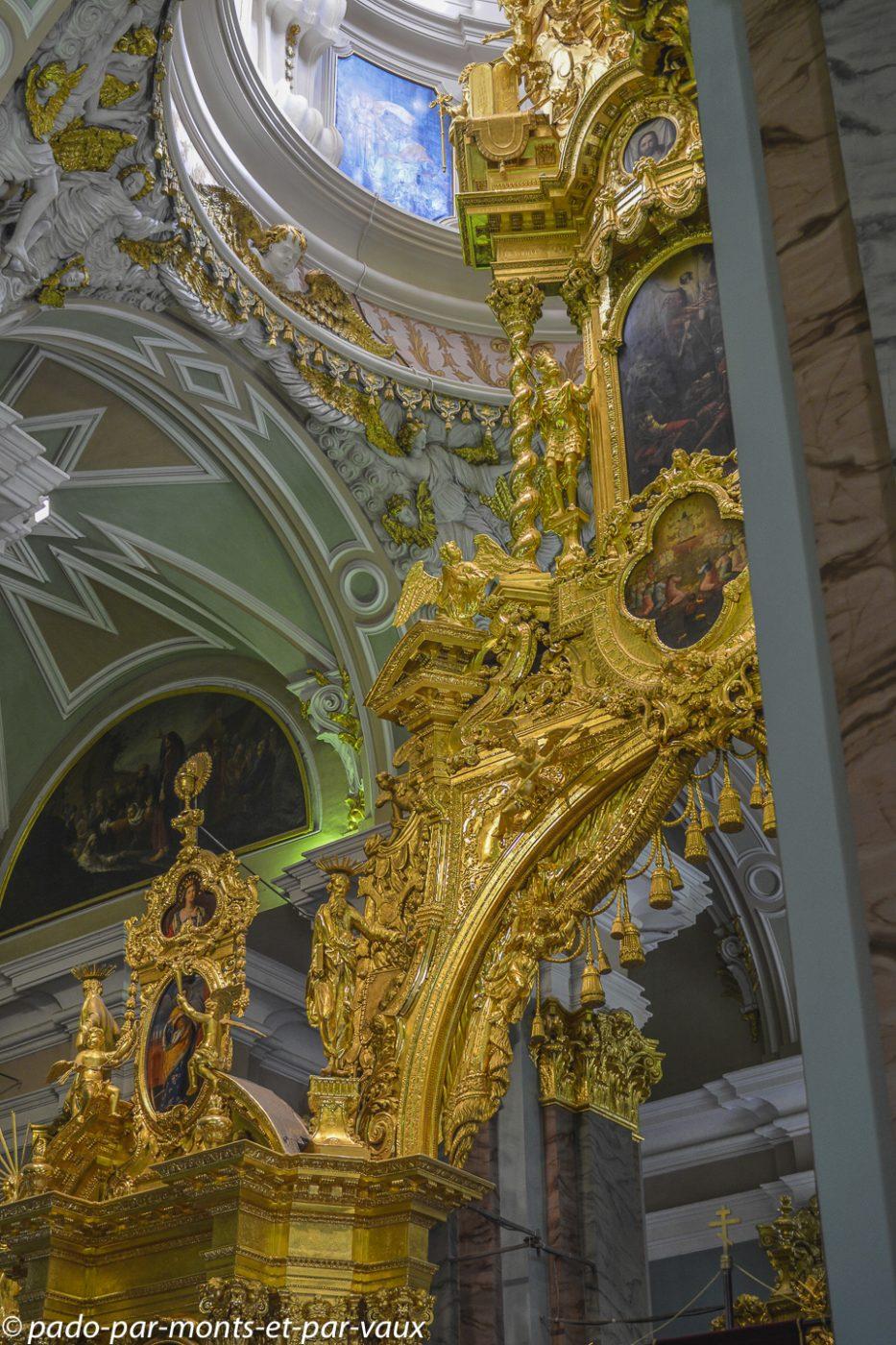 2015  St Pétersbourg - Eglise St Pierre et St Paul