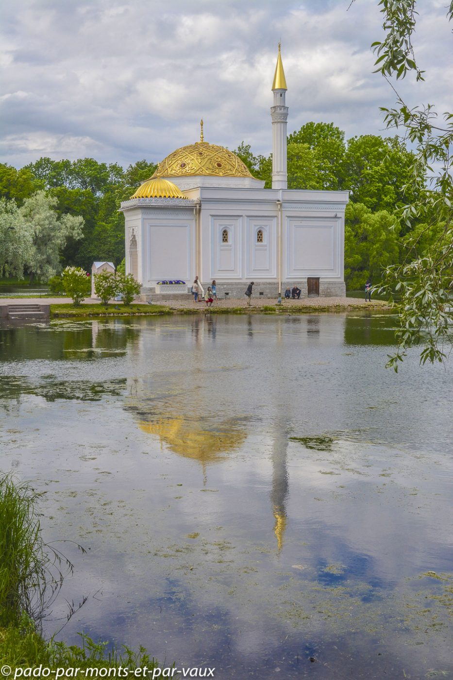 2015 - parc du Palais de Catherine - Bain turc
