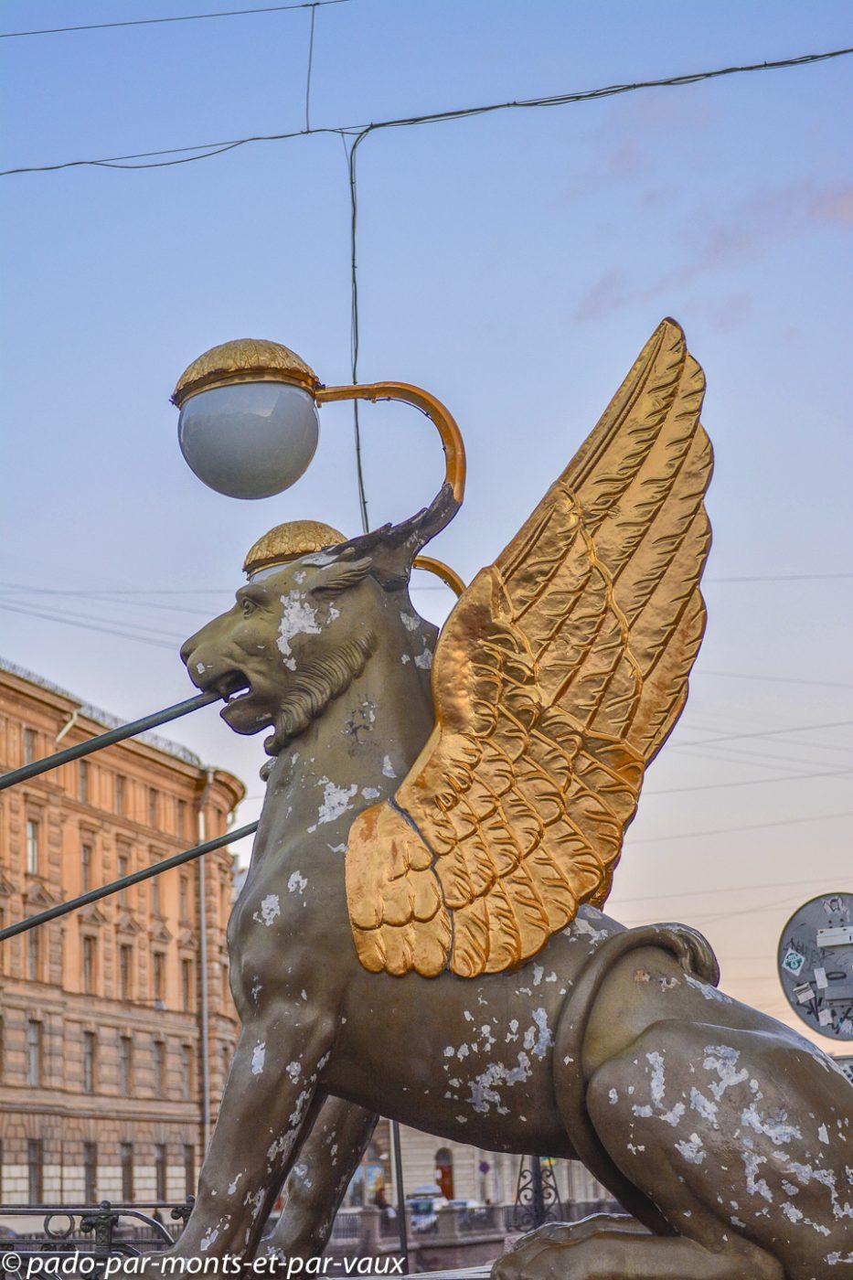2015 - St Pétersbourg - Pont de la Banque