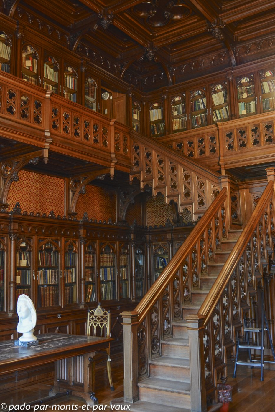 2015 - St Pétersbourg - Musée de l'Ermitage - bibliothèque