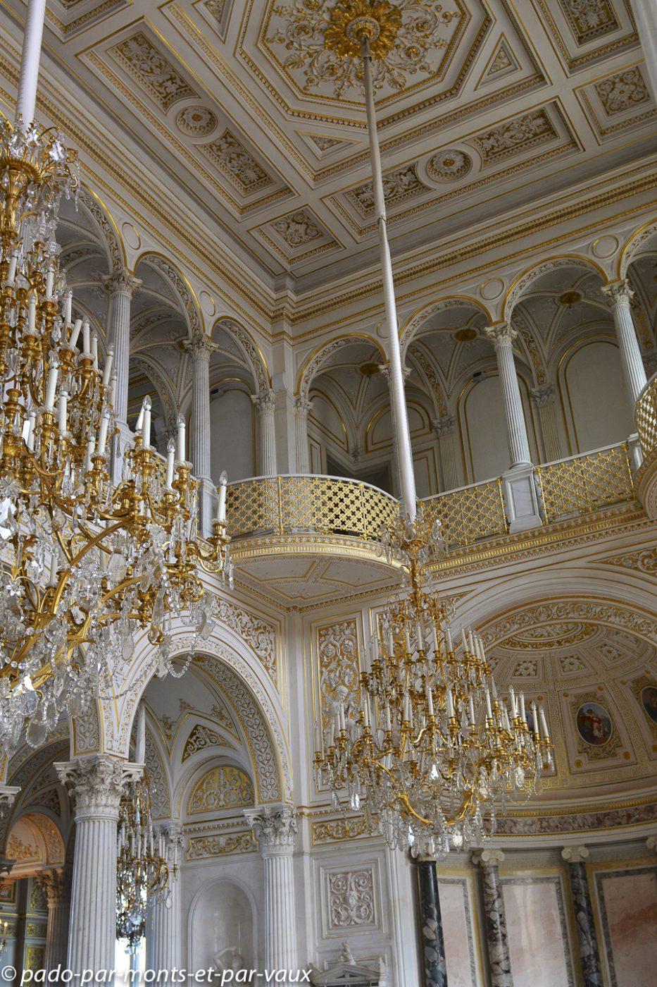 2015 - St Pétersbourg - Musée de l'Ermitage -   salle du Pavillon
