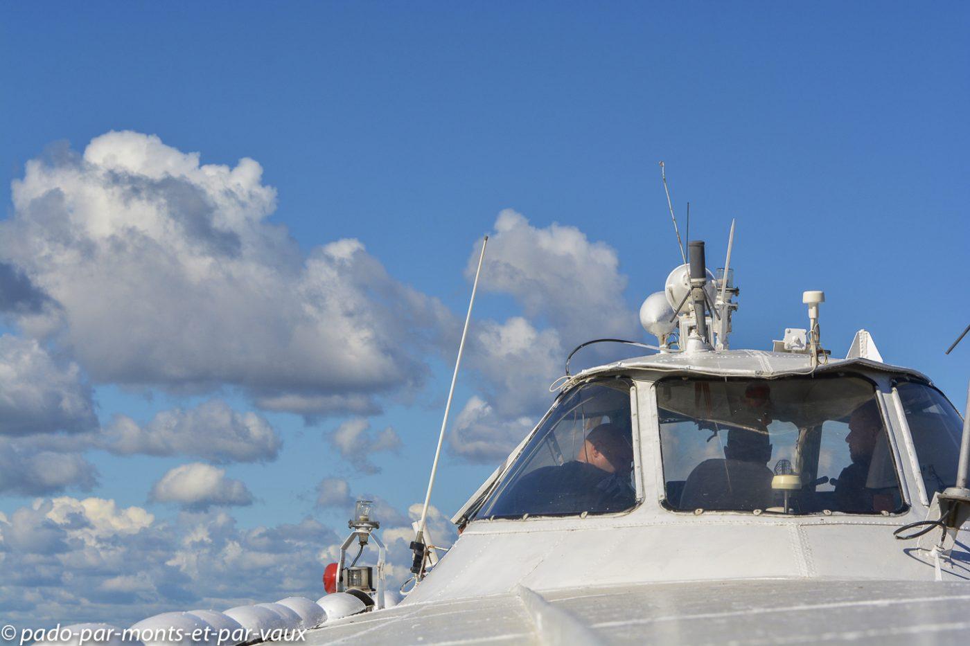 2015 - Hydroglisseur vers Peterhof