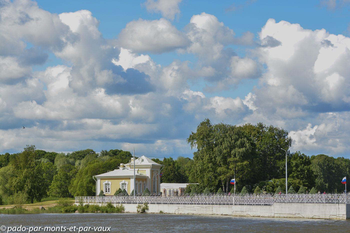 2015 - Arrivée à Peterhof