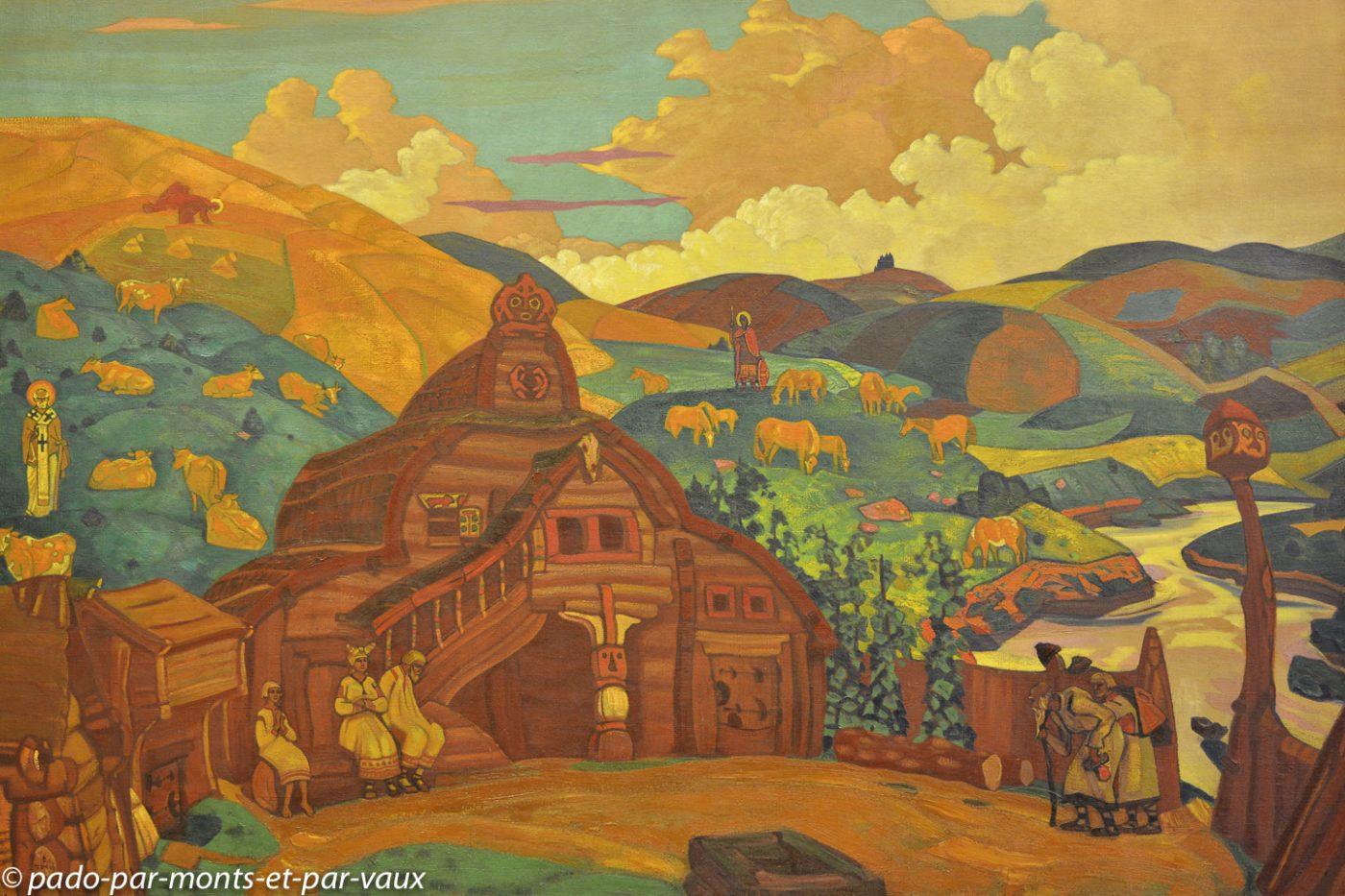 2015 - Saint Pétersbourg -  Musée Russe - Roerich