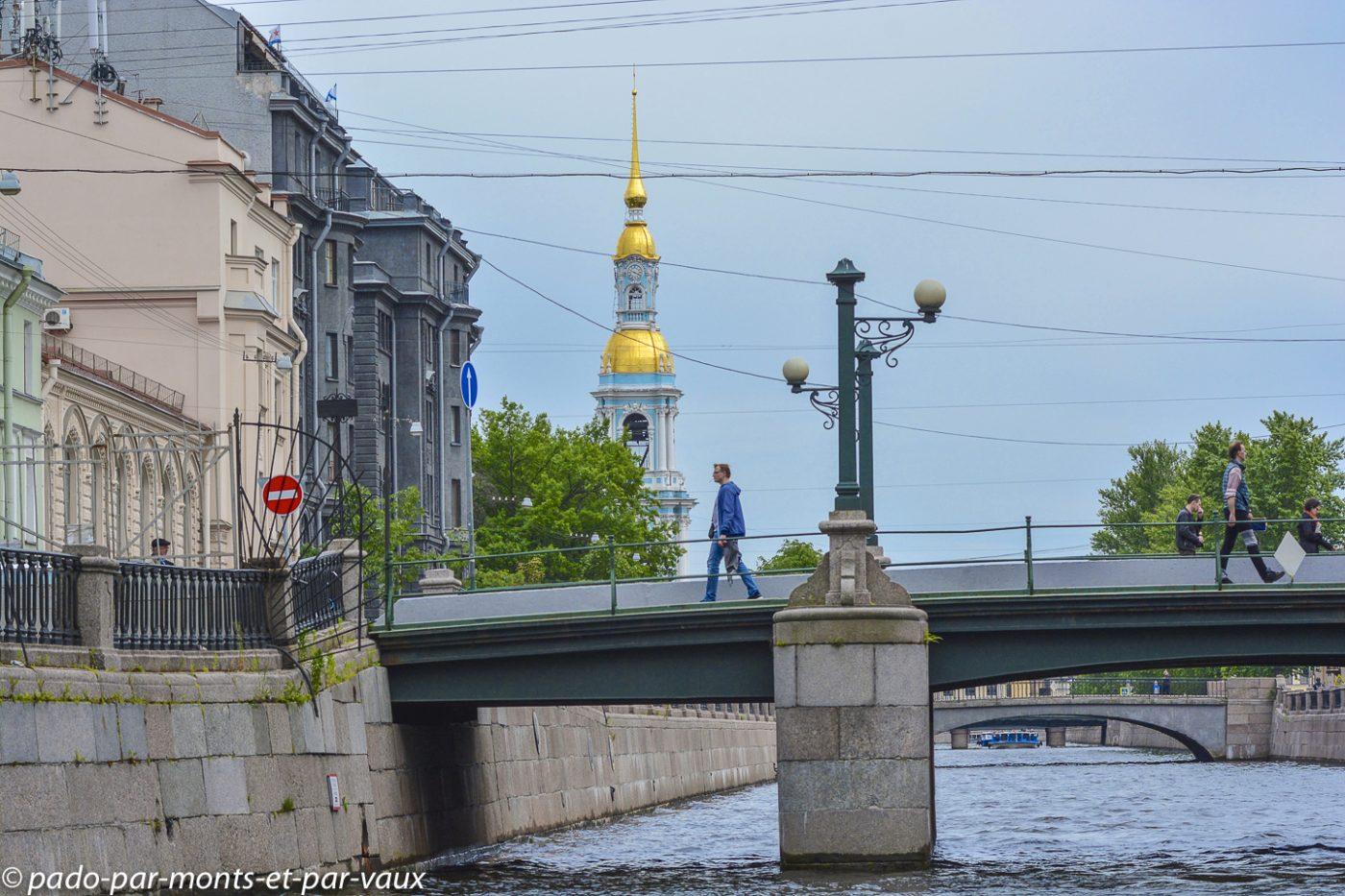 Saint Pétersbourg  - promenade en bateau