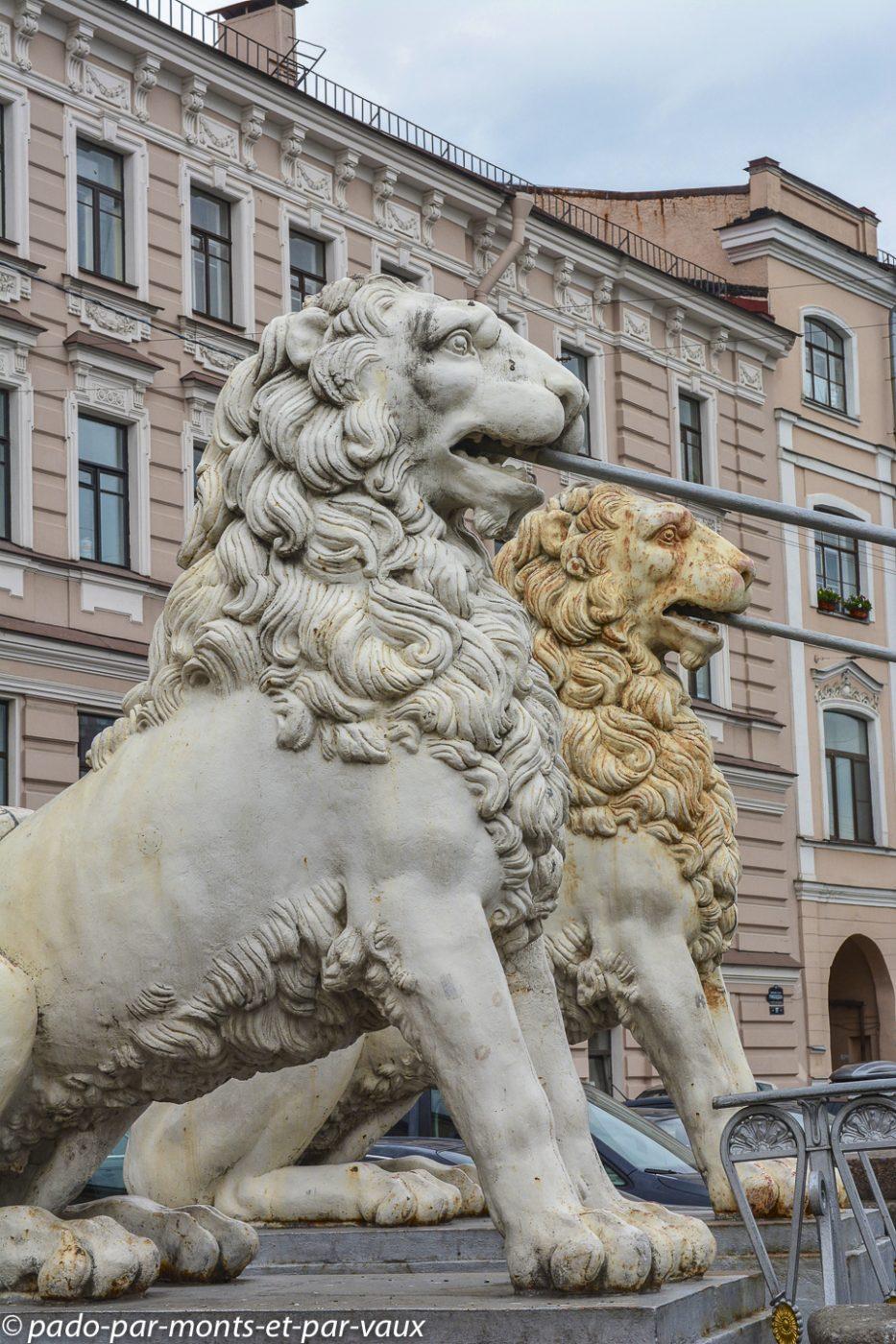 Saint Pétersbourg - Pont de la Banque