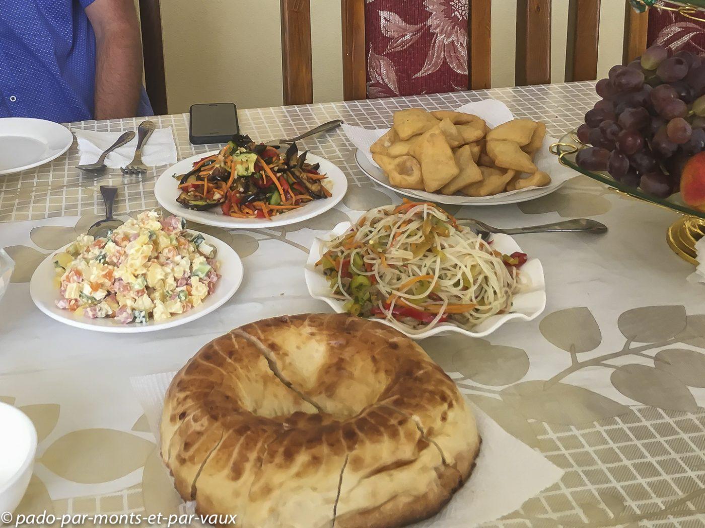 Repas kirghize