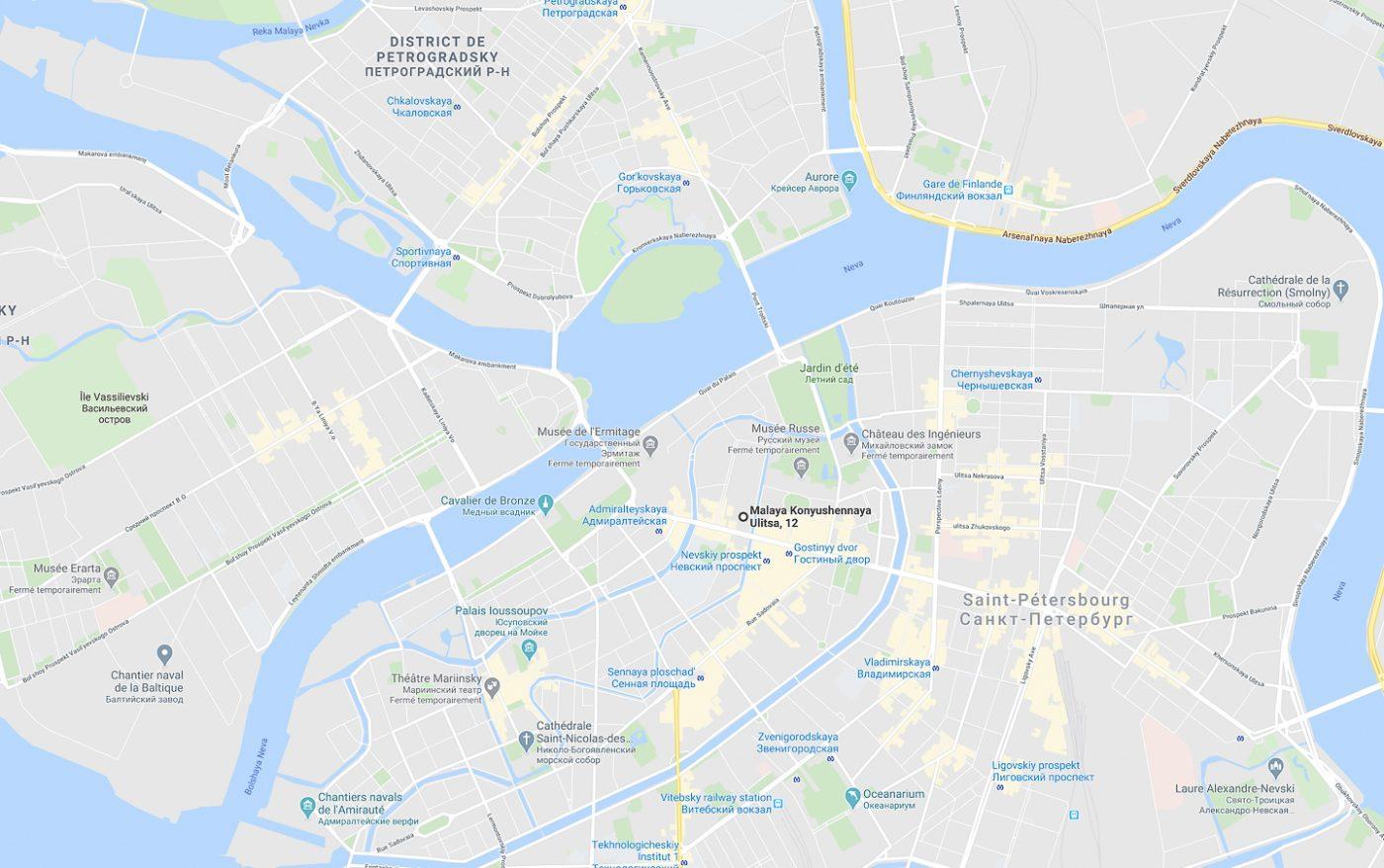 St Pétersbourg - Malaya Konyushennaya