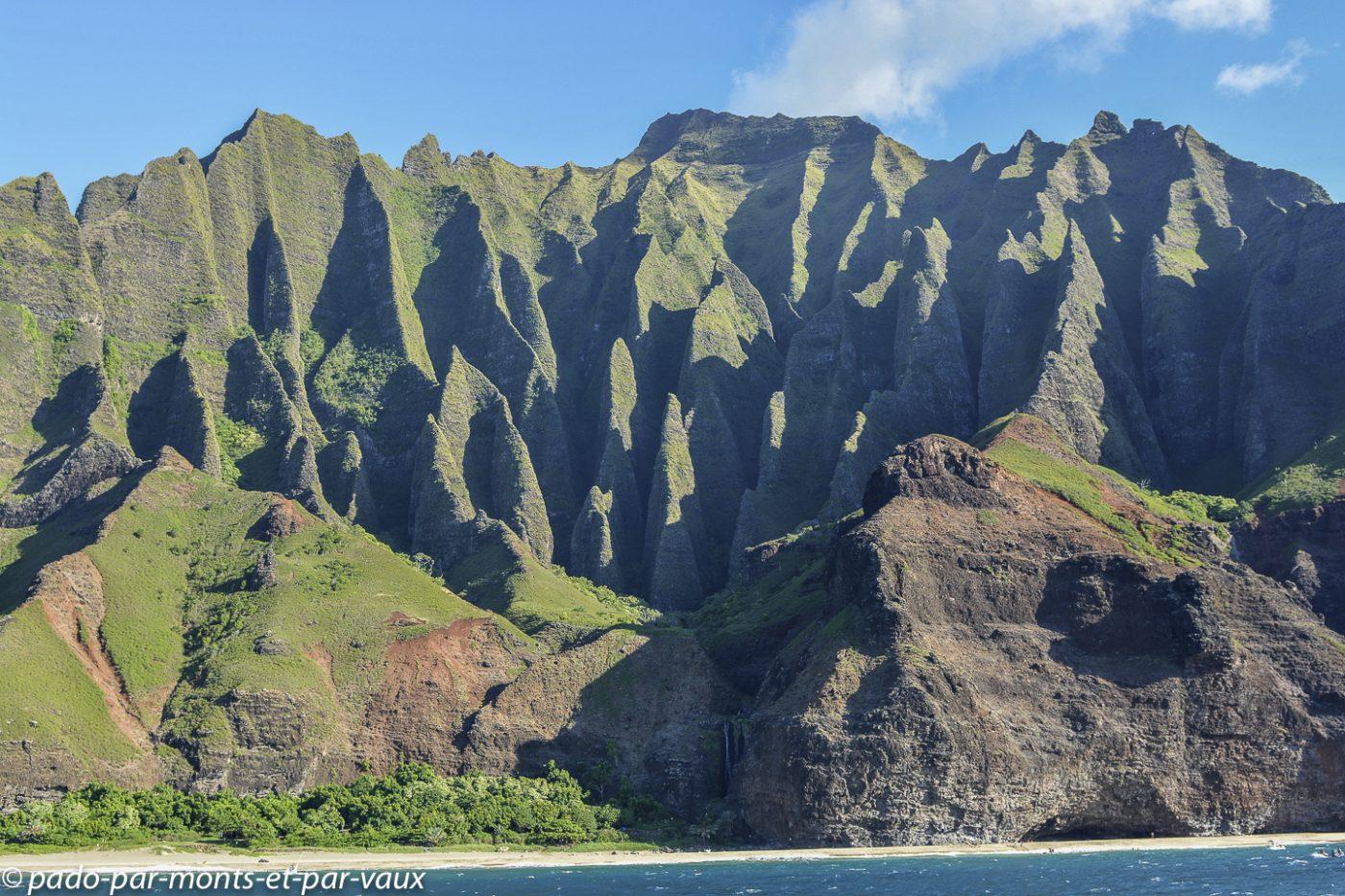 Kauai  - de port Allen à la Napali coast