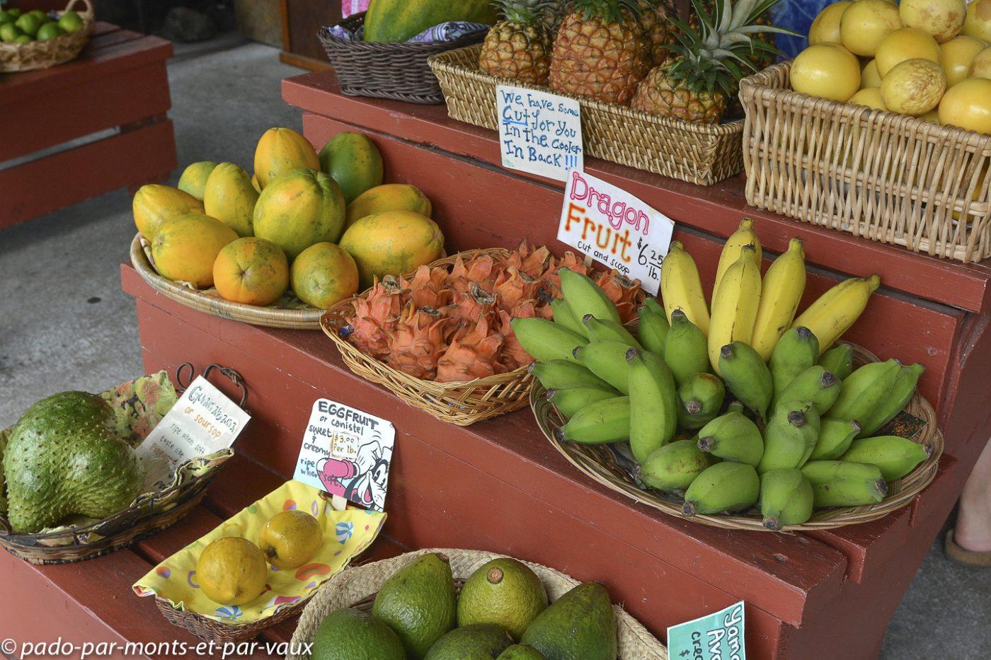 Hawaii - fruits