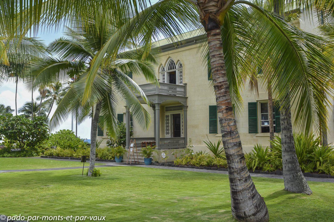Big Island -  Hulihe'e palace