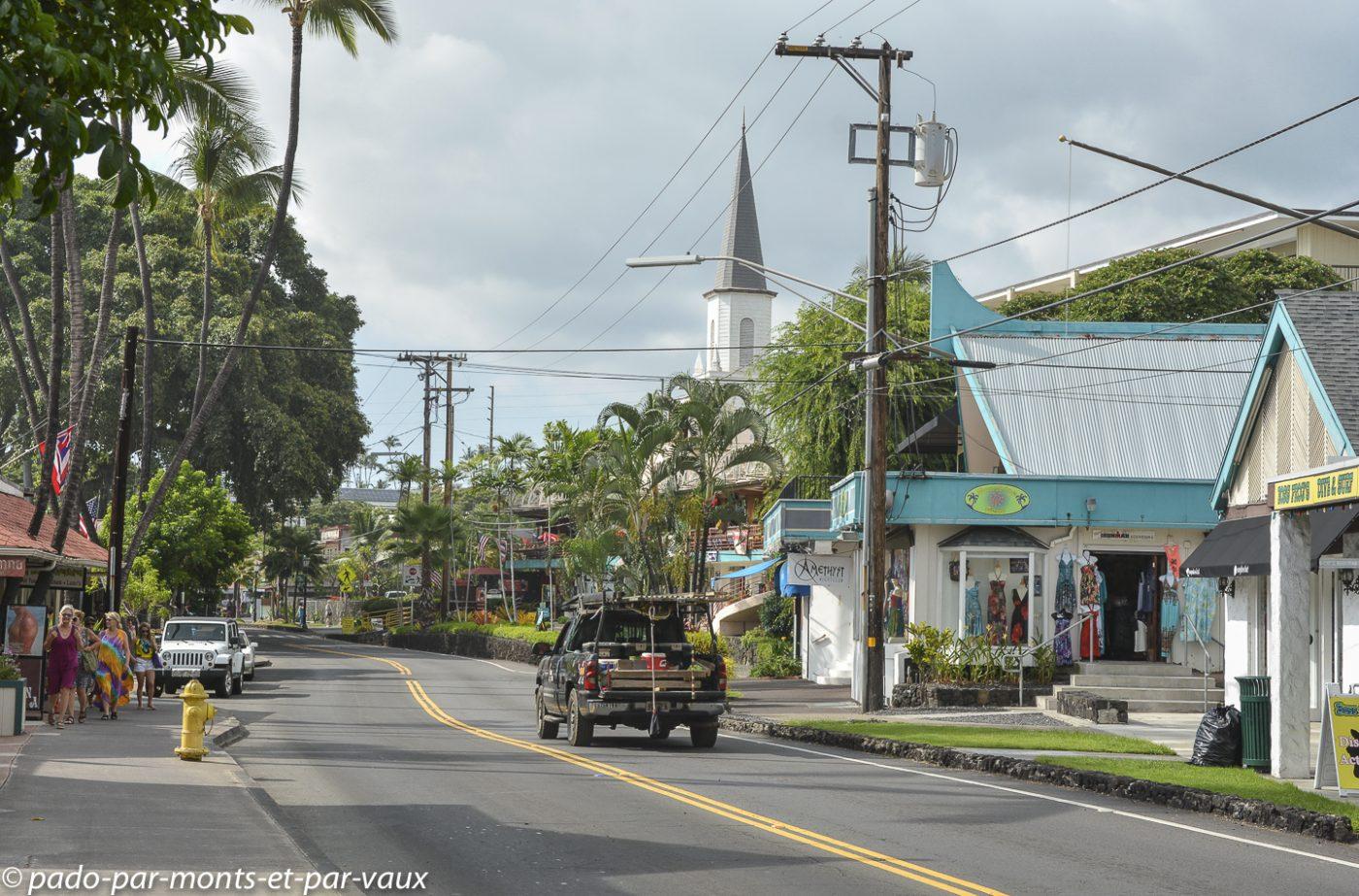 Big Island -  Kona