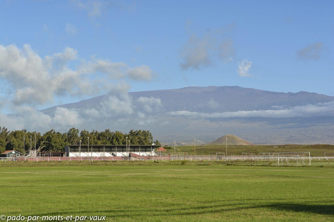 Big Island -  Waimea - vue sur le Mauna kea