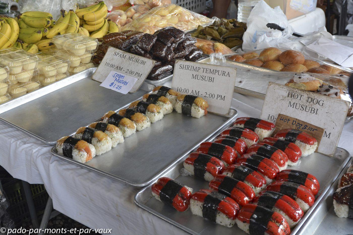 Hawaii - marché