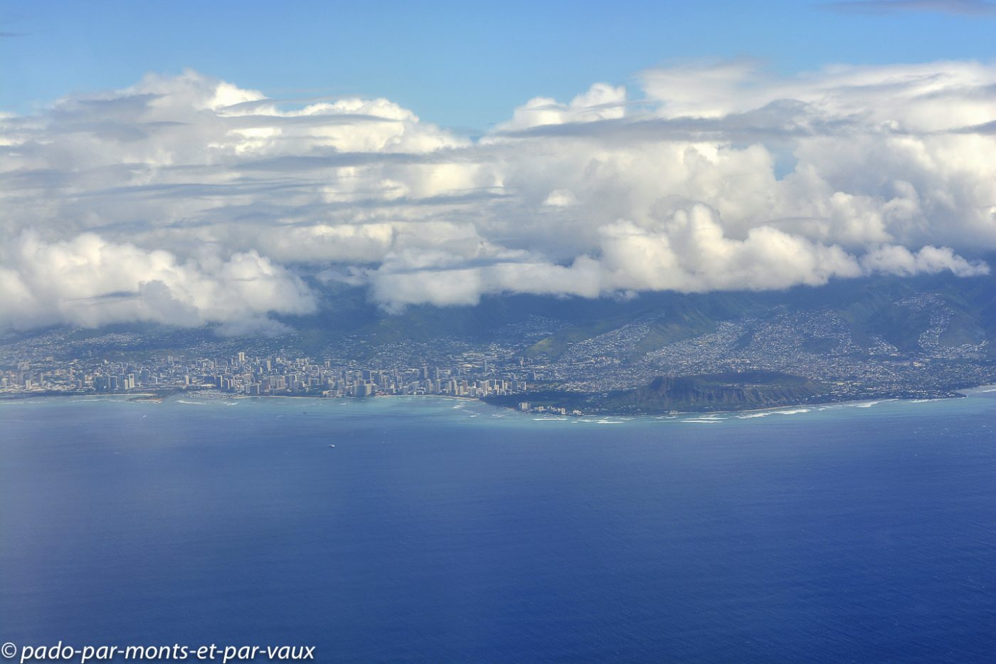vol Big Island - Honolulu