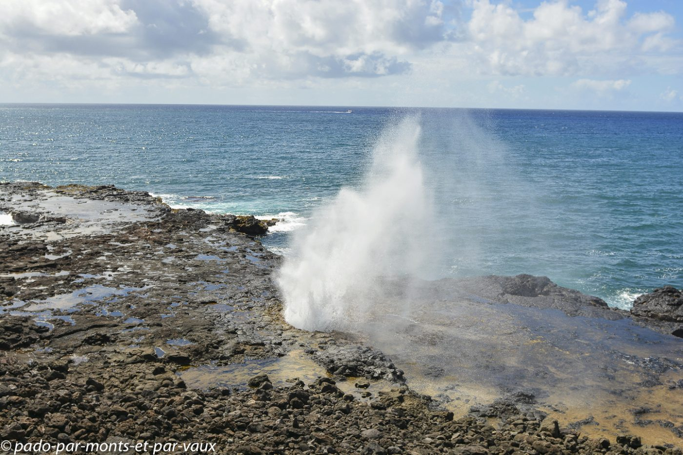 Kauai - Spouting horn beach park