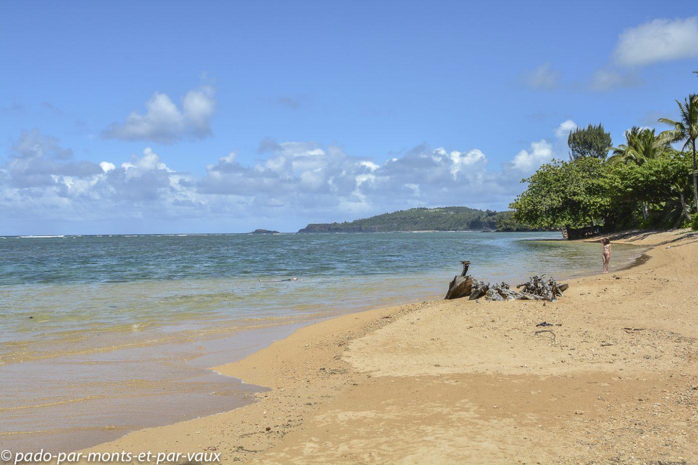 Kauai  - Anini beach