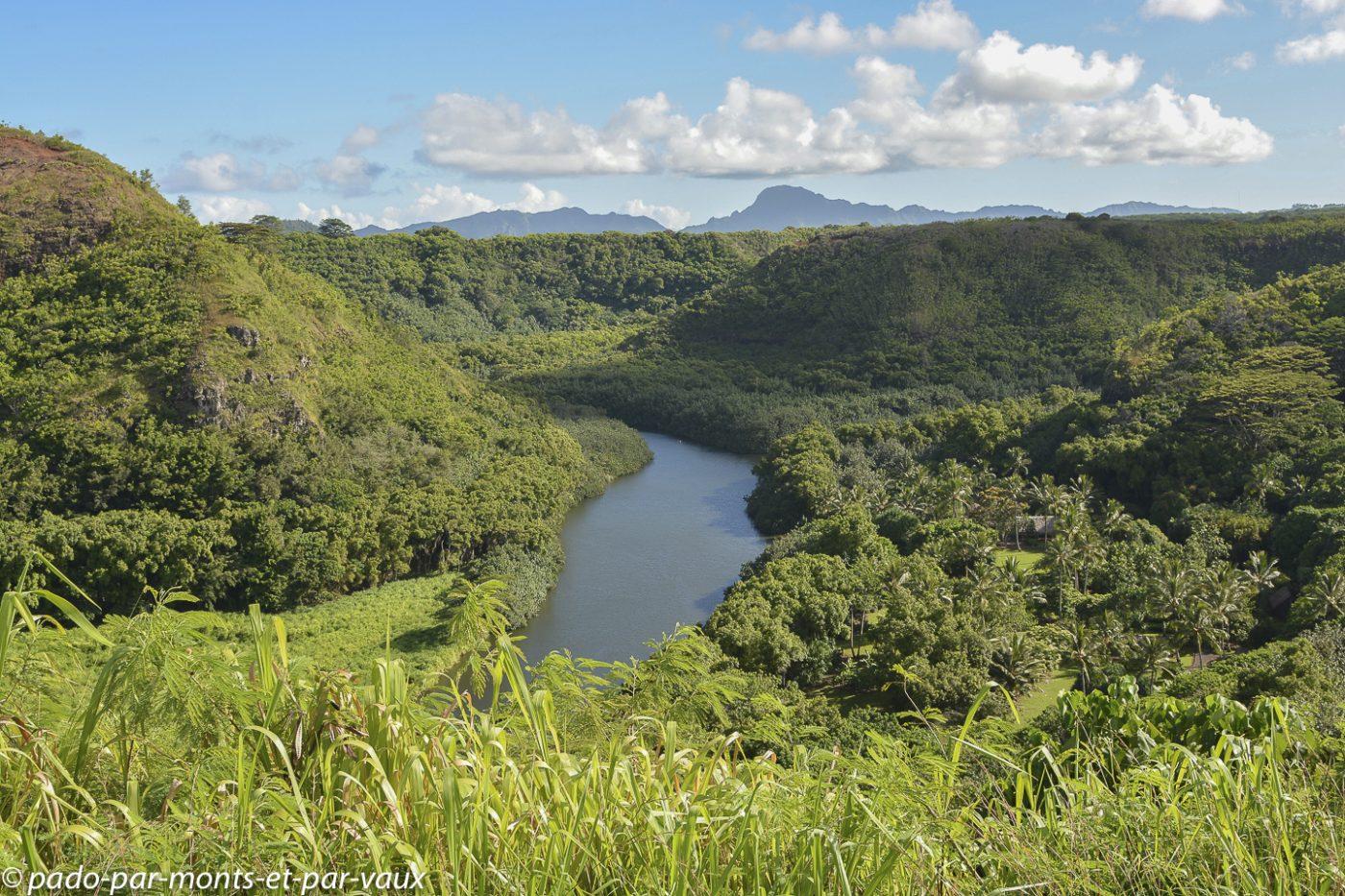 Kauai - Wailua river valley