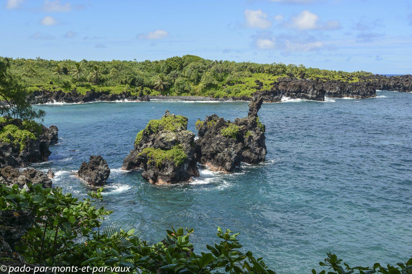 Maui - Route de Hana - Wai'anapanapa