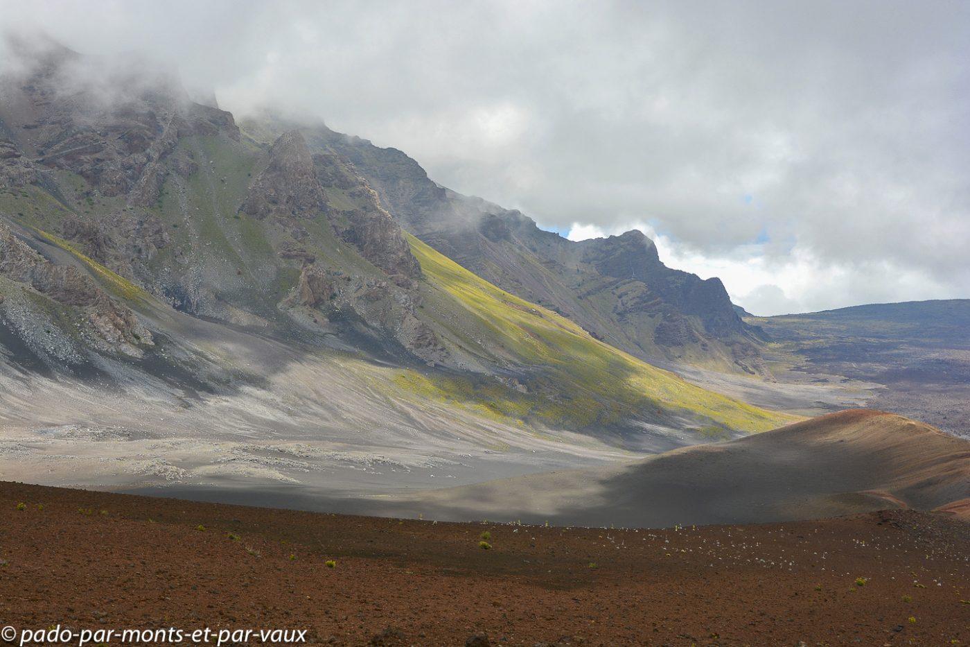 Maui  - Haleakala national park - sliding sands trail