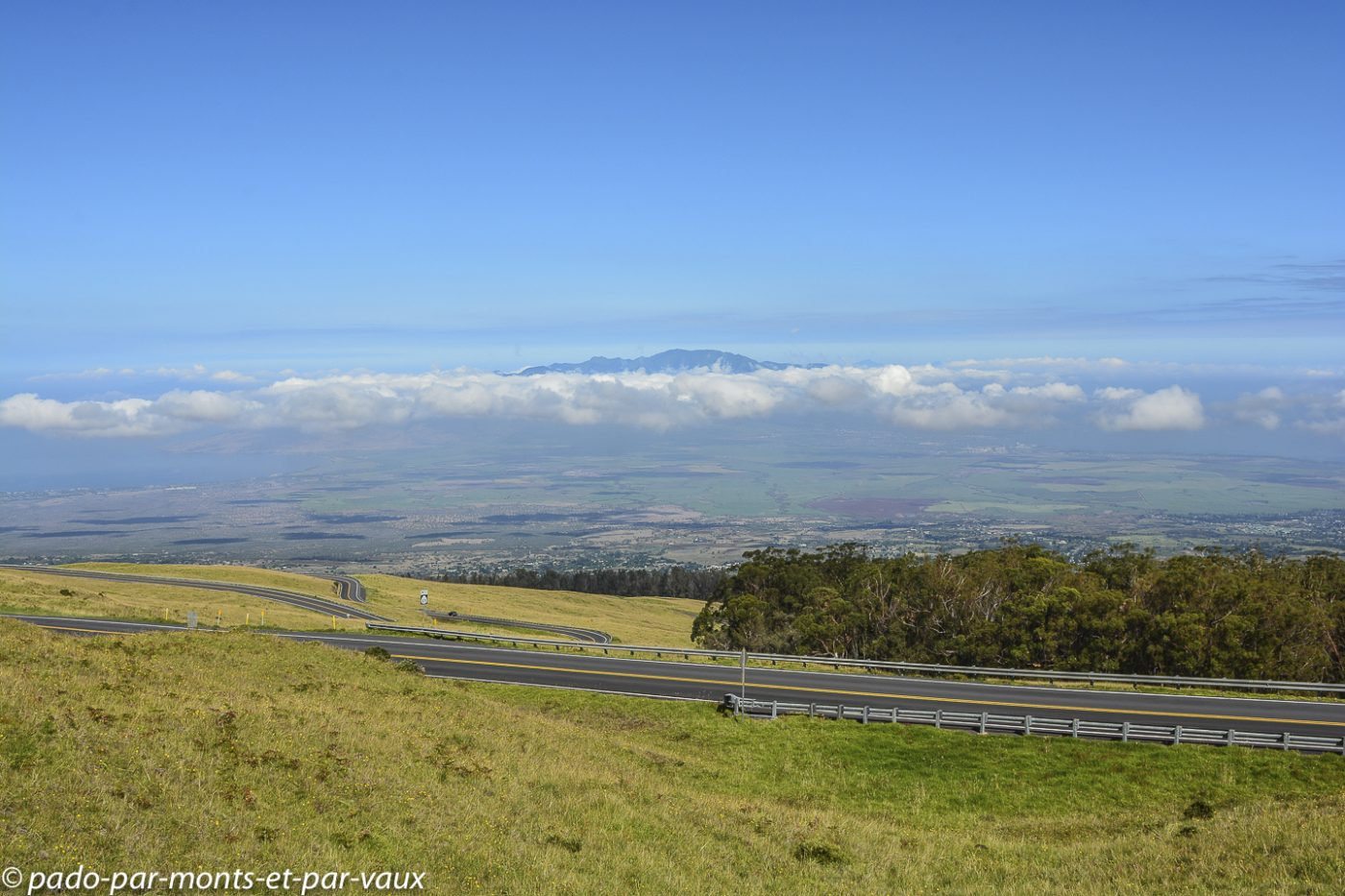 Maui  - Haleakala crater road