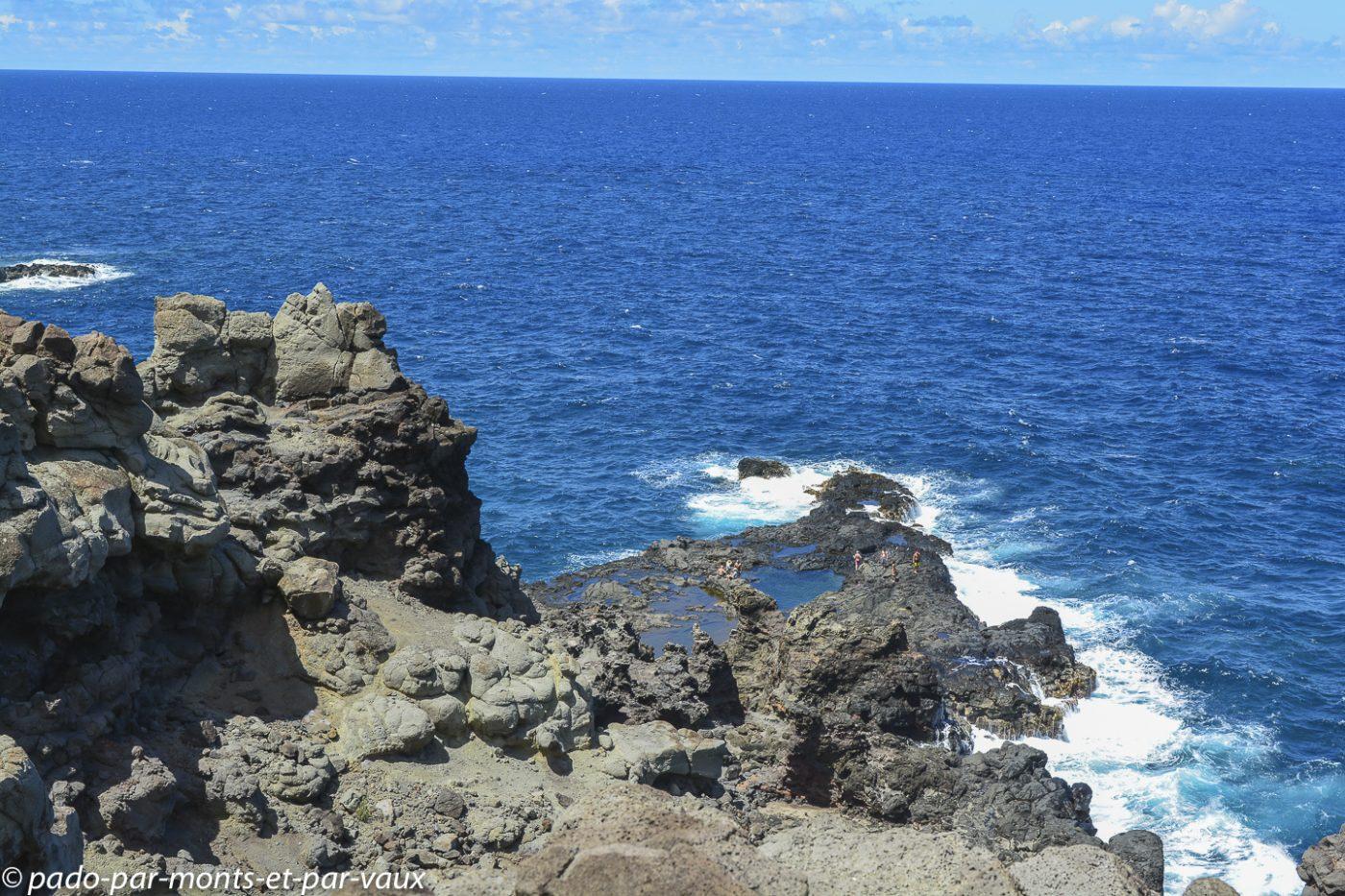 Maui - Kahekili highway - Ocean baths