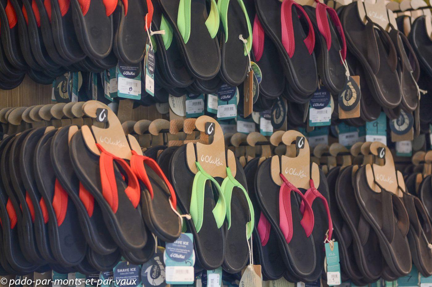 Maui - Lahaina  - Slippers