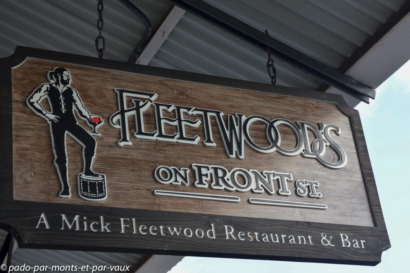 Maui - Lahaina - Fleetwood's on front street