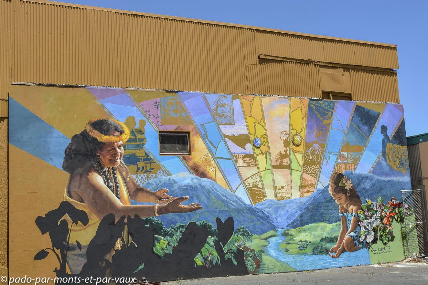 Maui - peinture murale