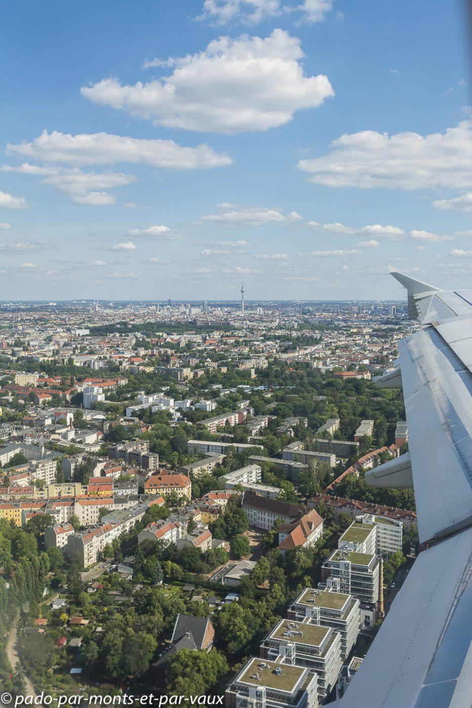 Arrivée à Berlin
