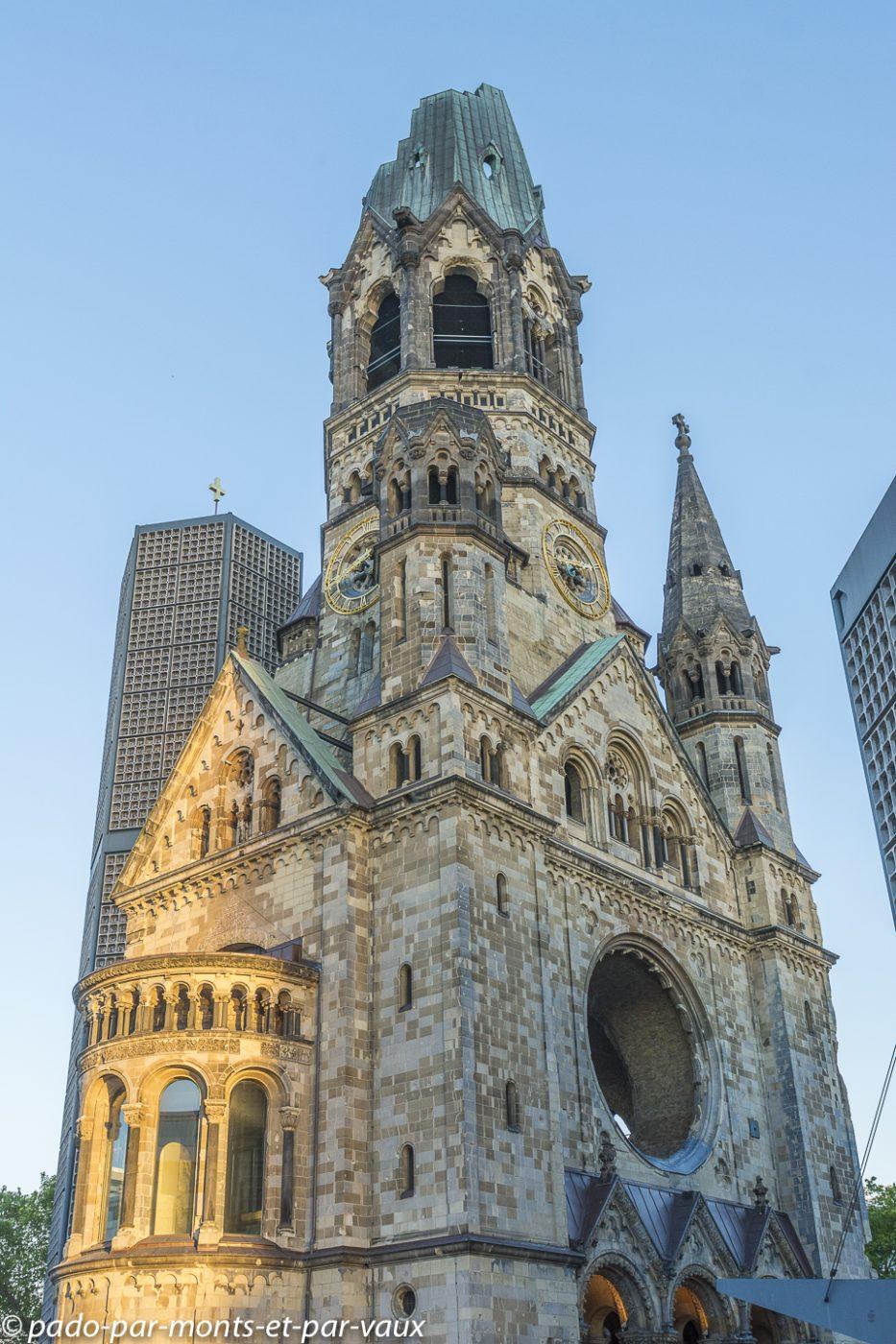Berlin - Eglise du souvenir