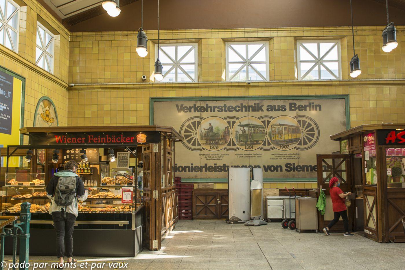 Berlin - gare de Wittenberg