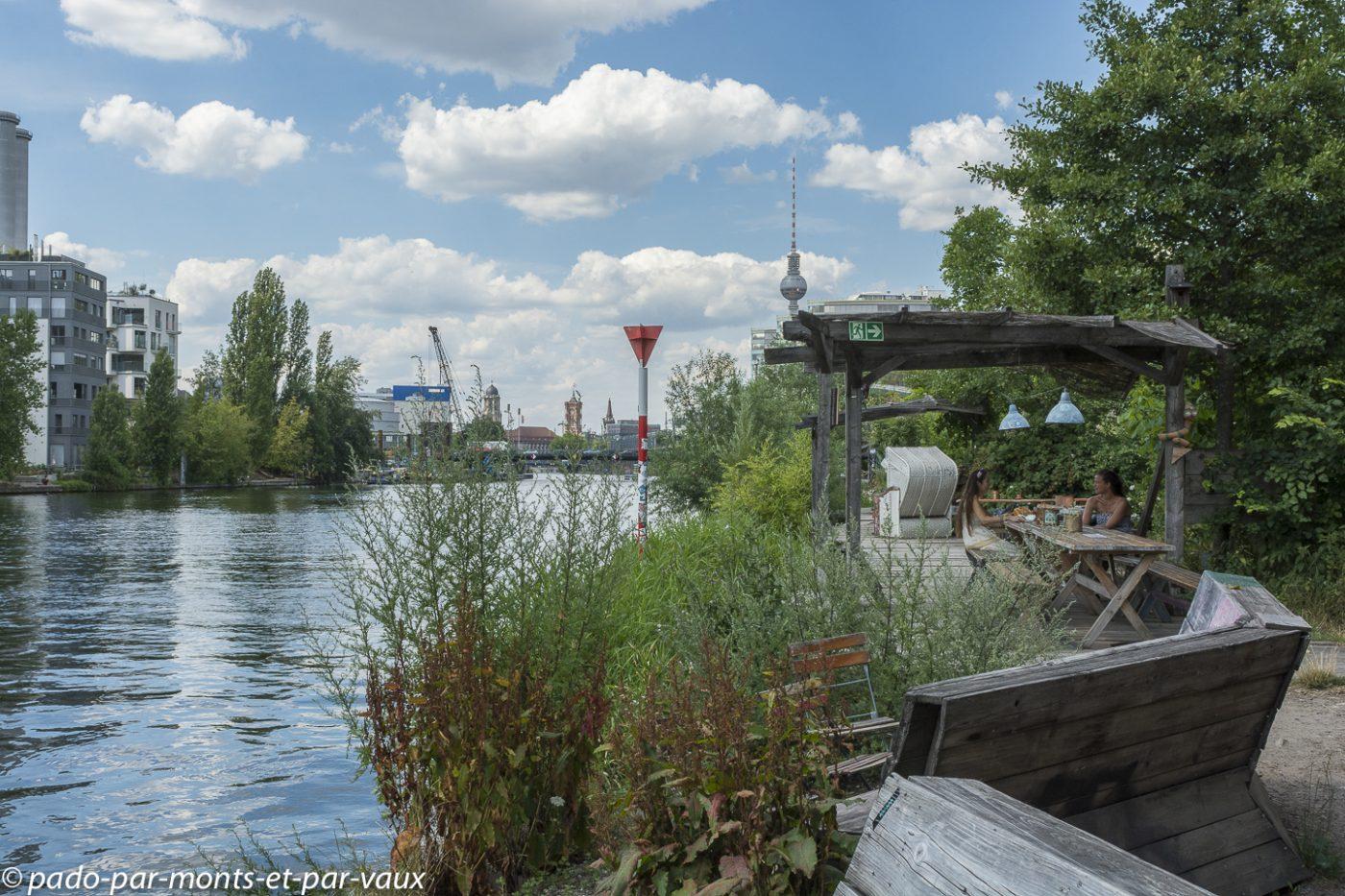 Berlin - au bord de la Spree