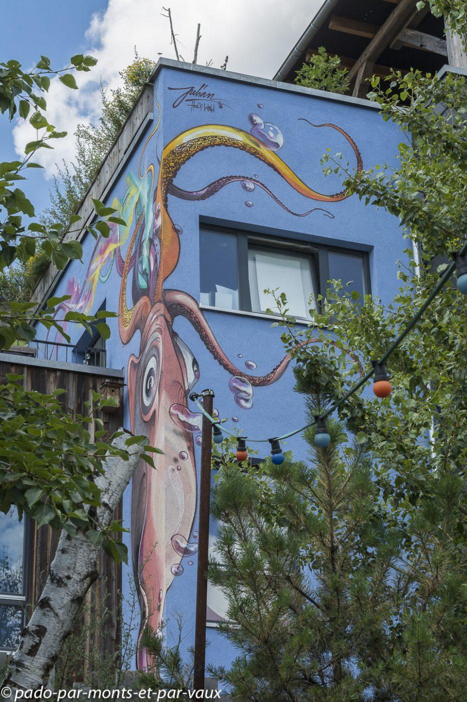 Street art Berlin - bords de Spree