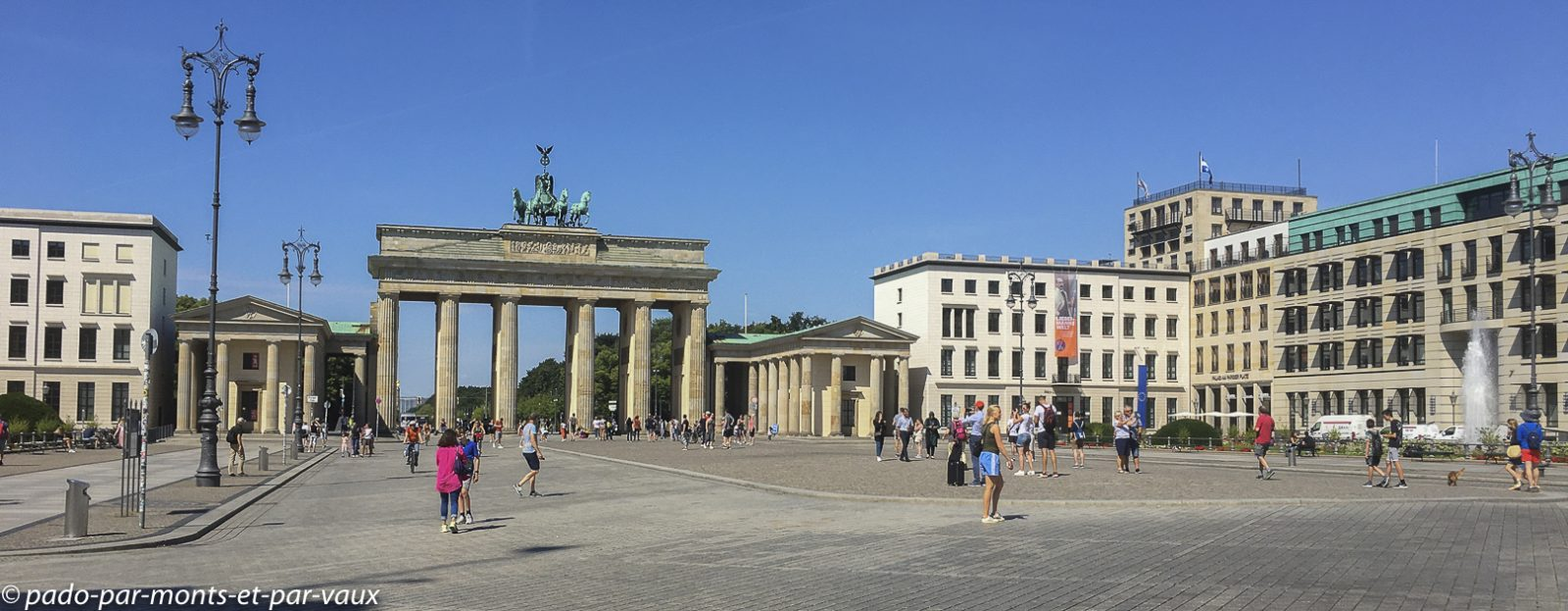 Berlin - Porte de Brandebourg