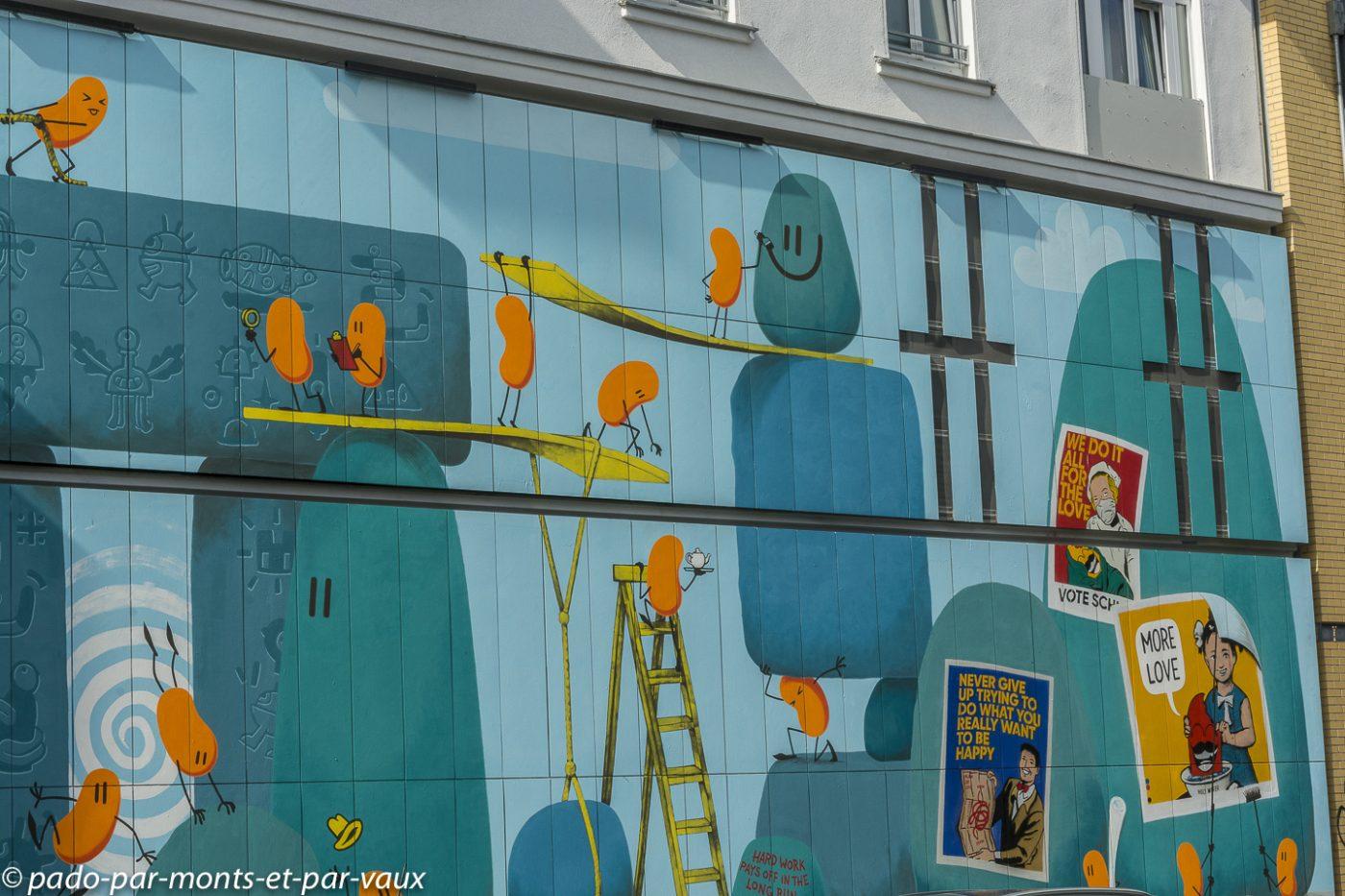 Berlin - Facade d'Urban Nation