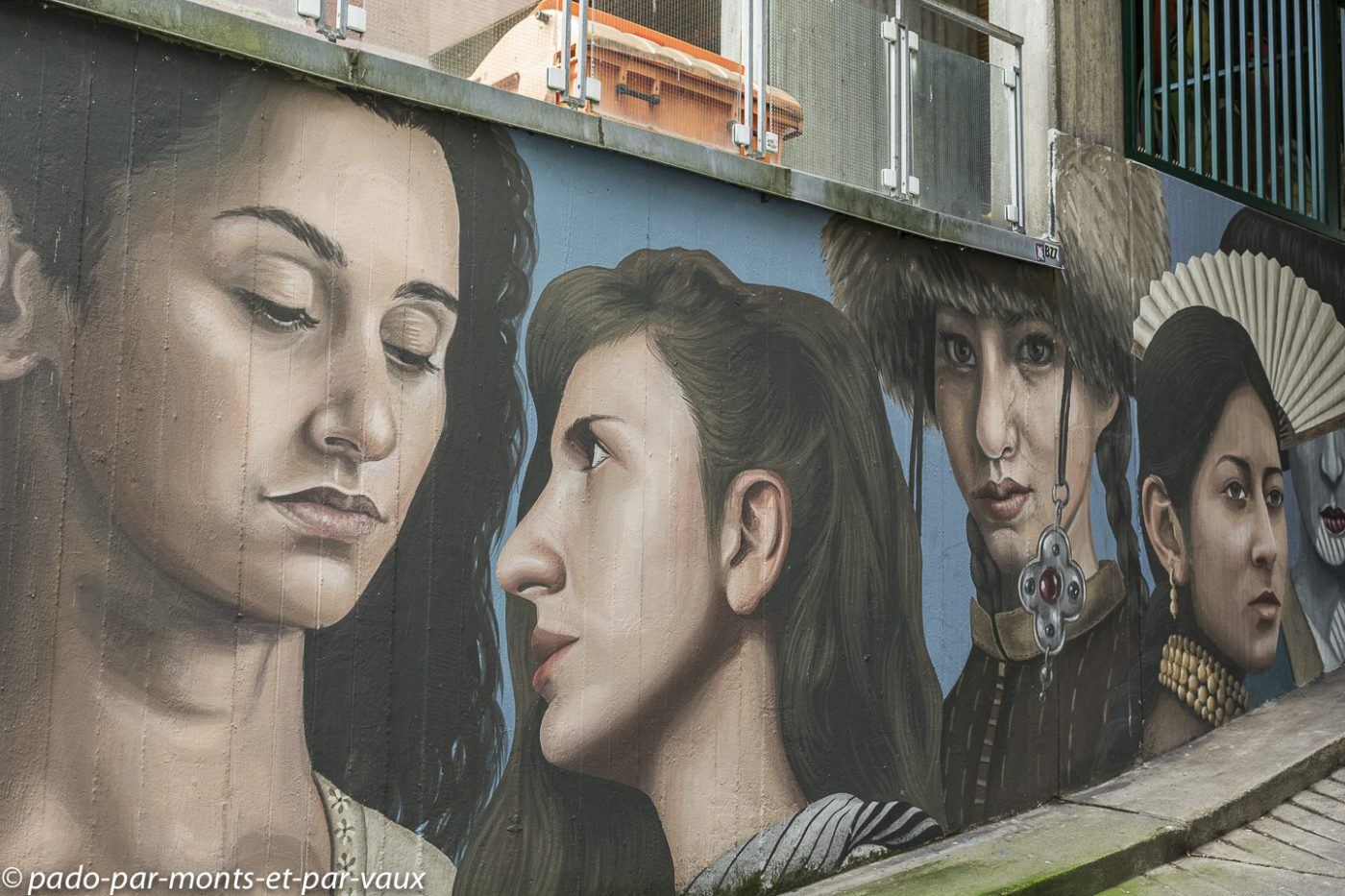 Street art Berlin - quartier autour d'Urban Nation