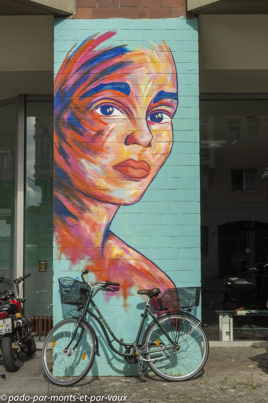 Berlin - Quartier autour d'Urban Nation