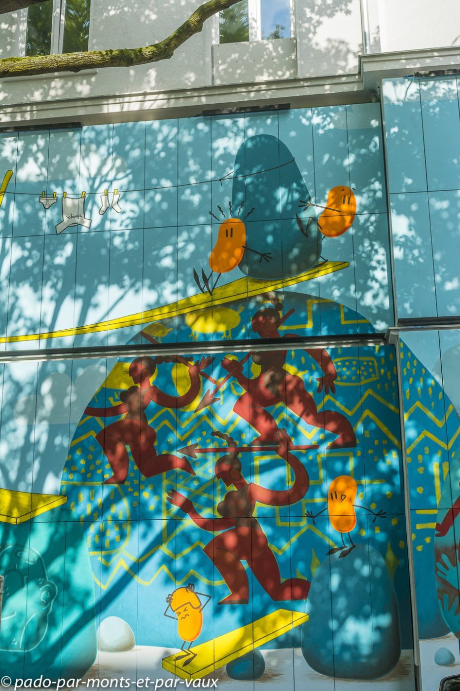 Street art Berlin - urban nation