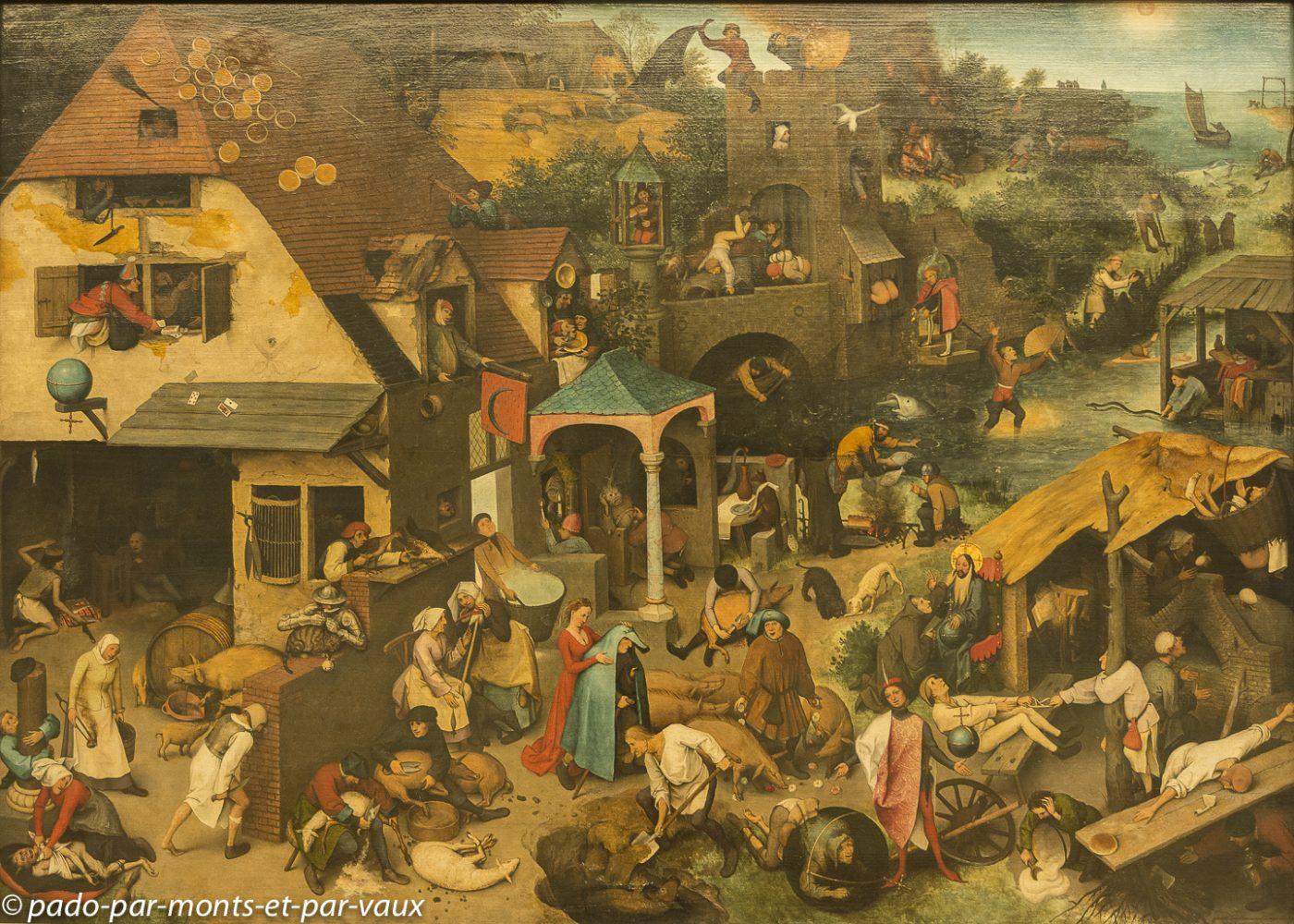 Berlin - Pinacothèque - Bruegel