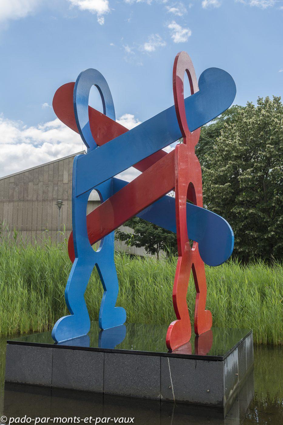 Berlin - Postdamer platz - Keith Haring