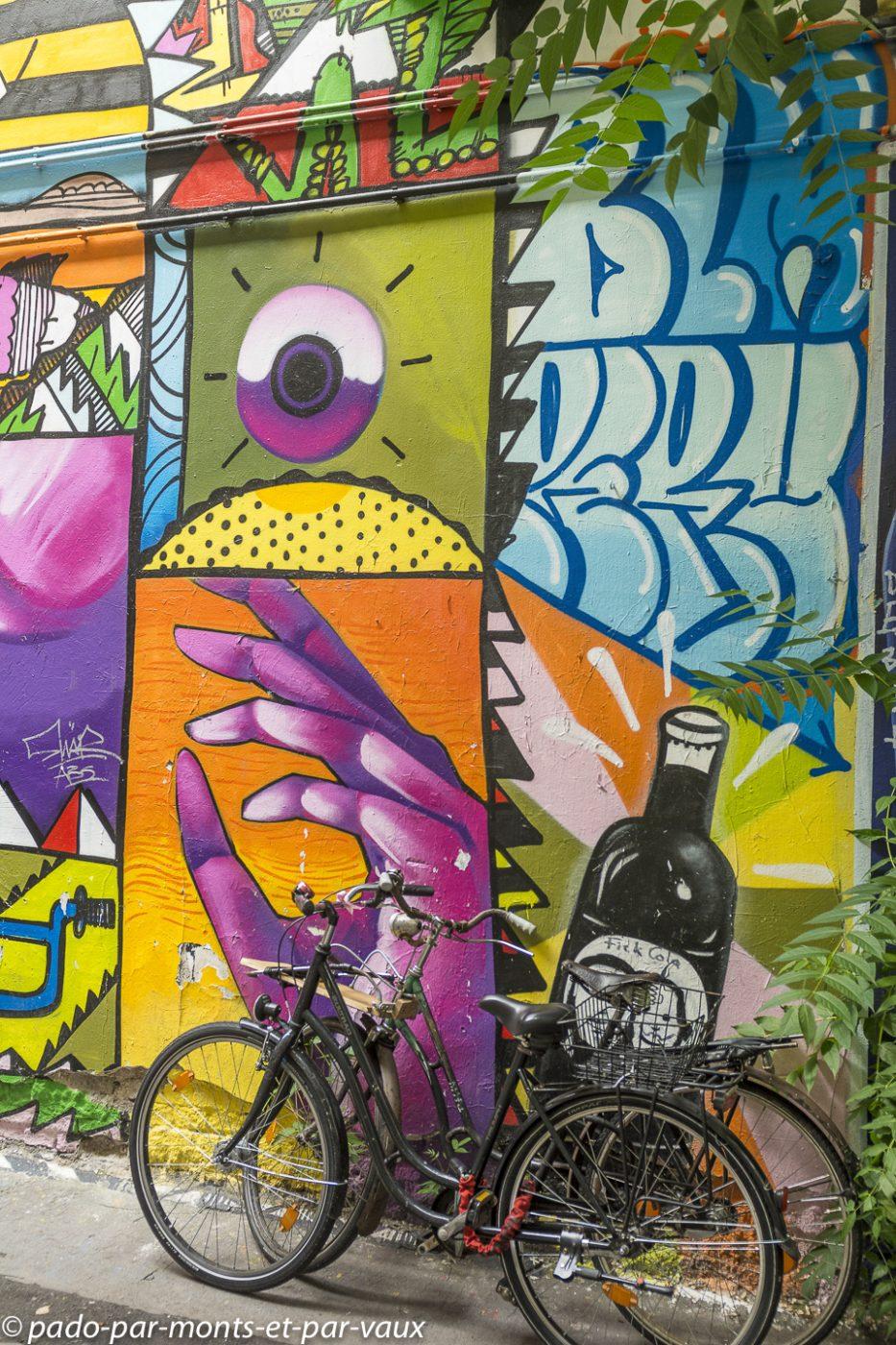 Street art Berlin - Prenzlauerberg