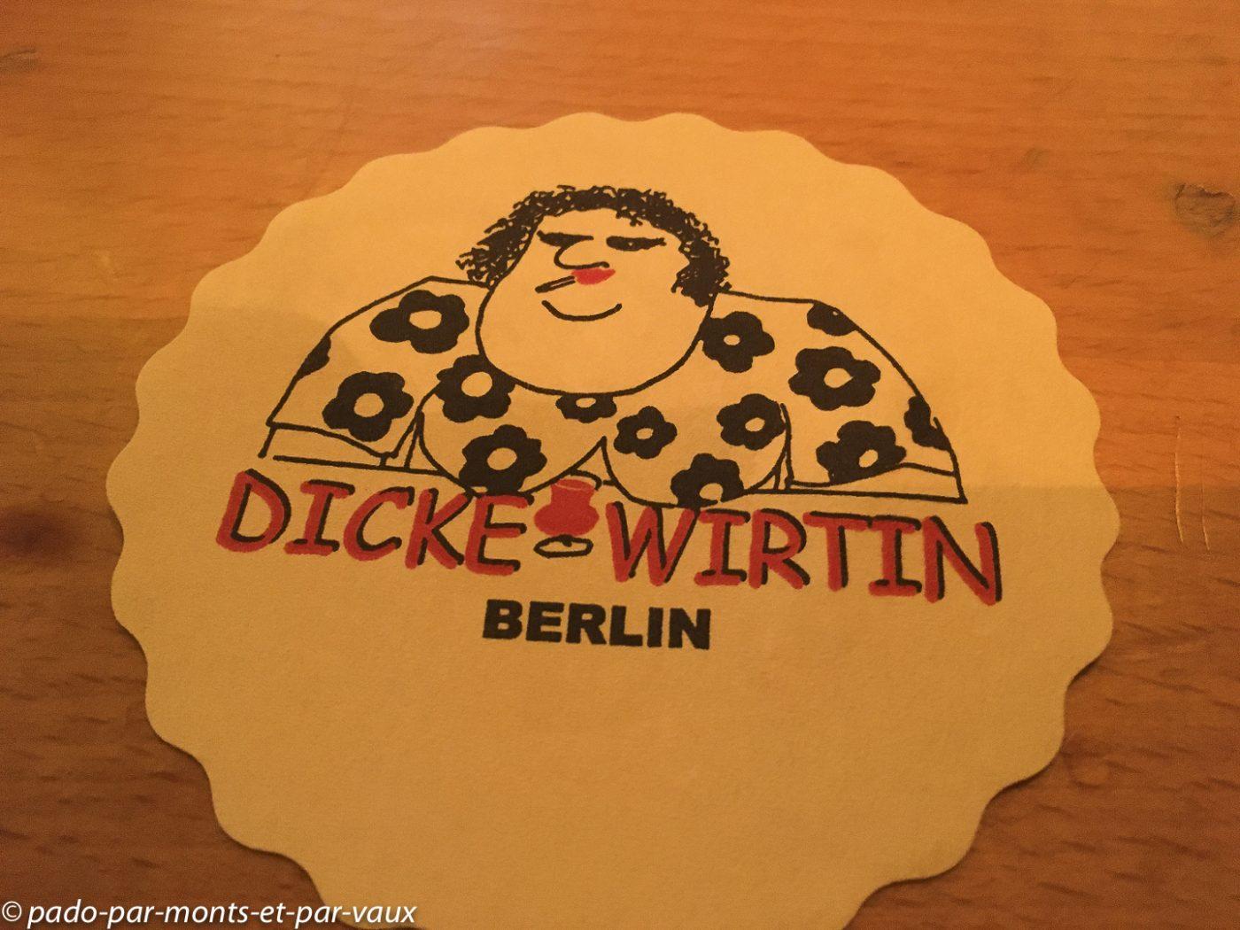Berlin - Charlottenburg - Dicke Wirtin