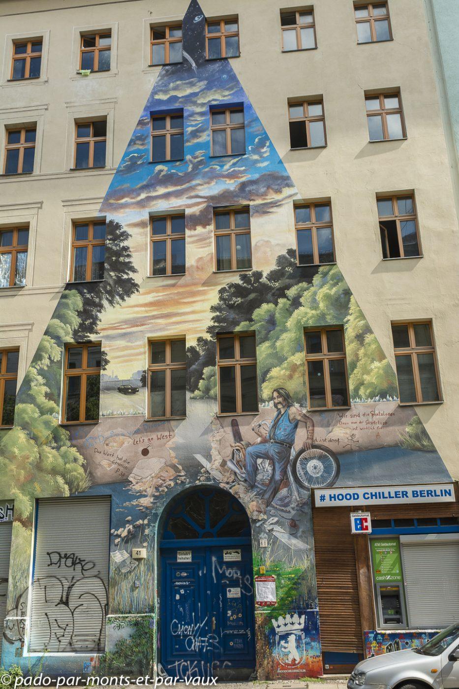 Street art Berlin - Kreuzberg