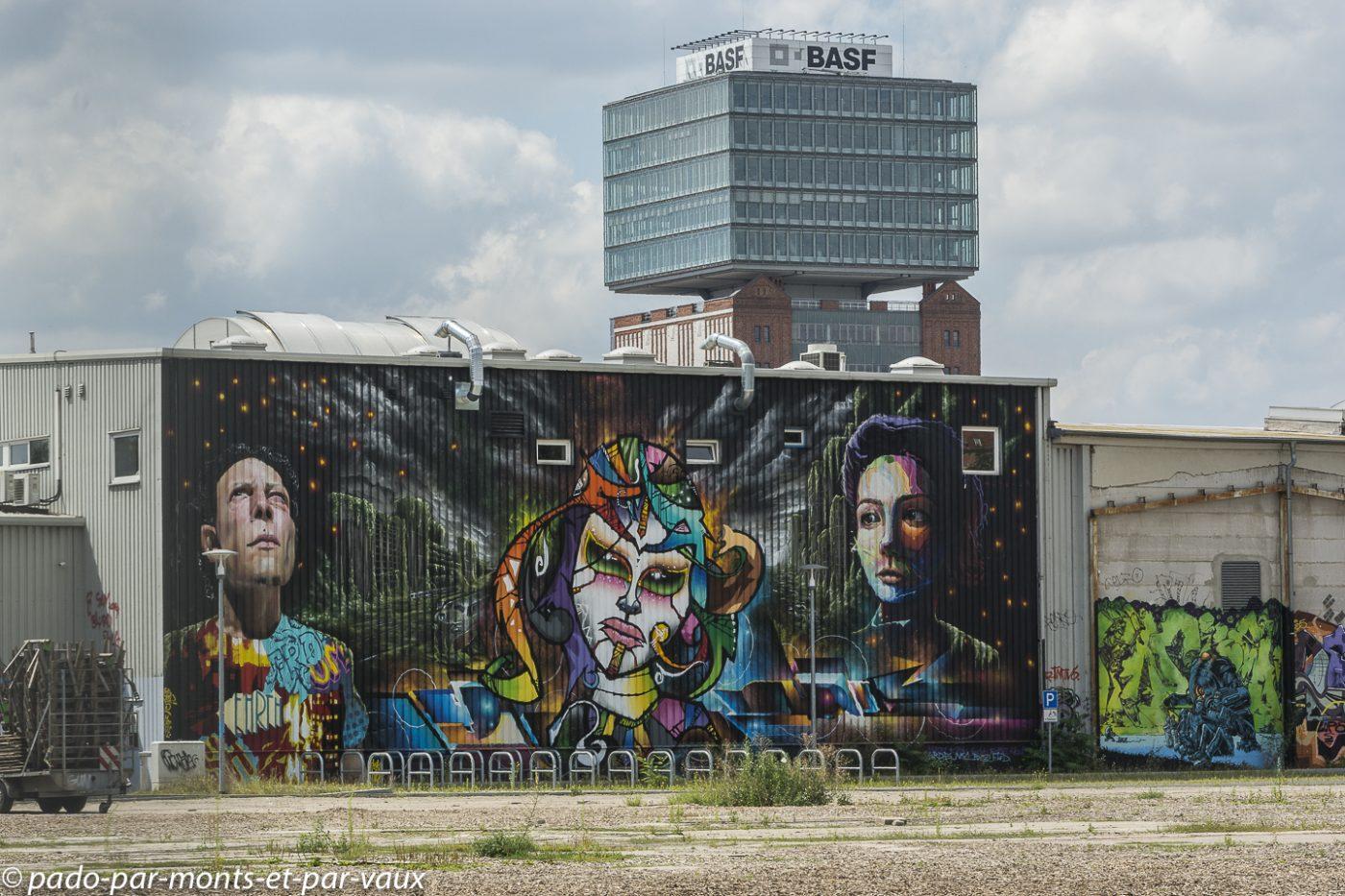 Berlin -  Friche de Rawgelände