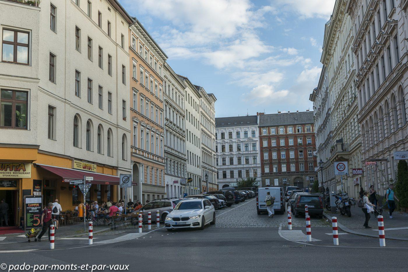 Berlin -  sud de Kreuzberg